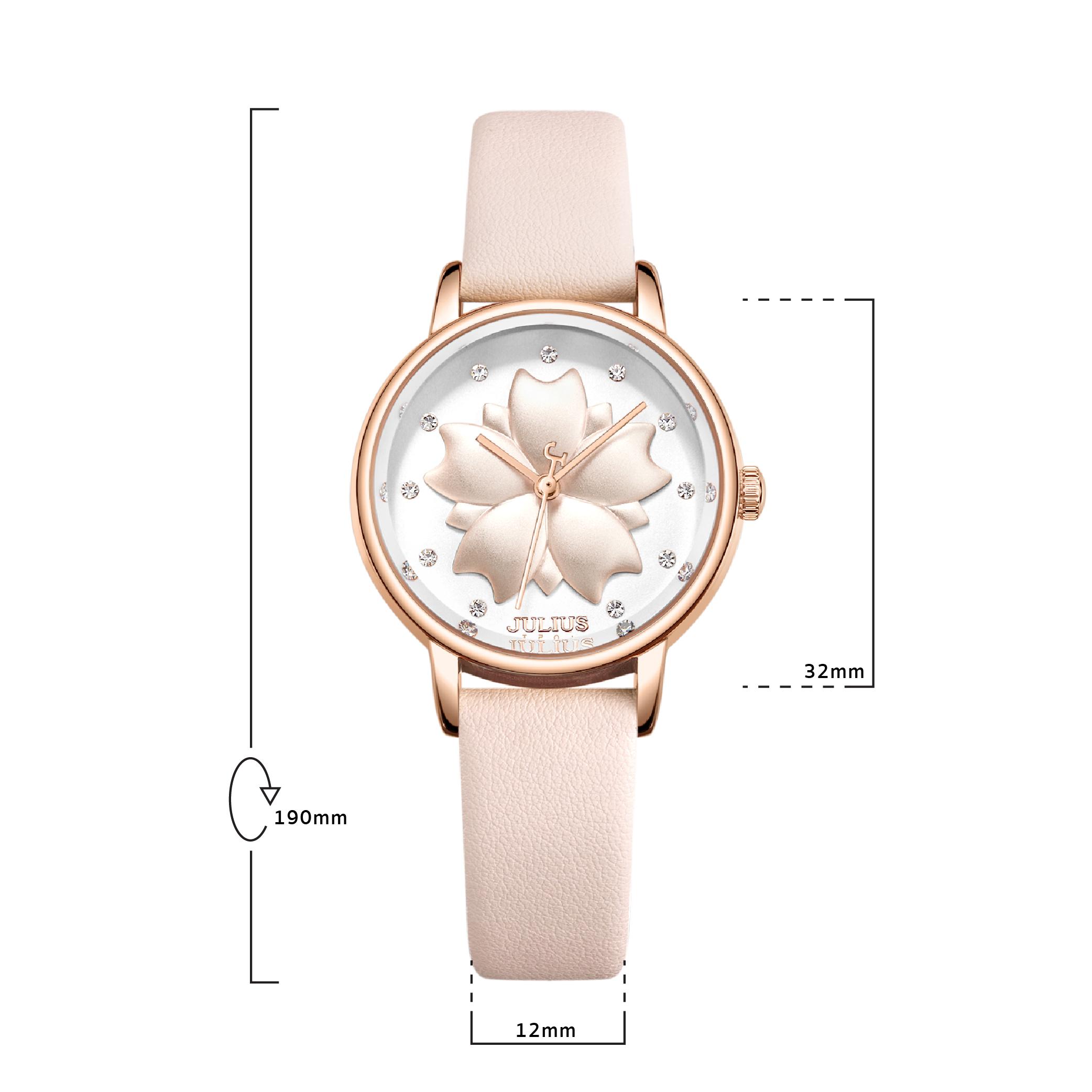 นาฬิกาข้อมือผู้หญิง JULIUS JA-1000 C