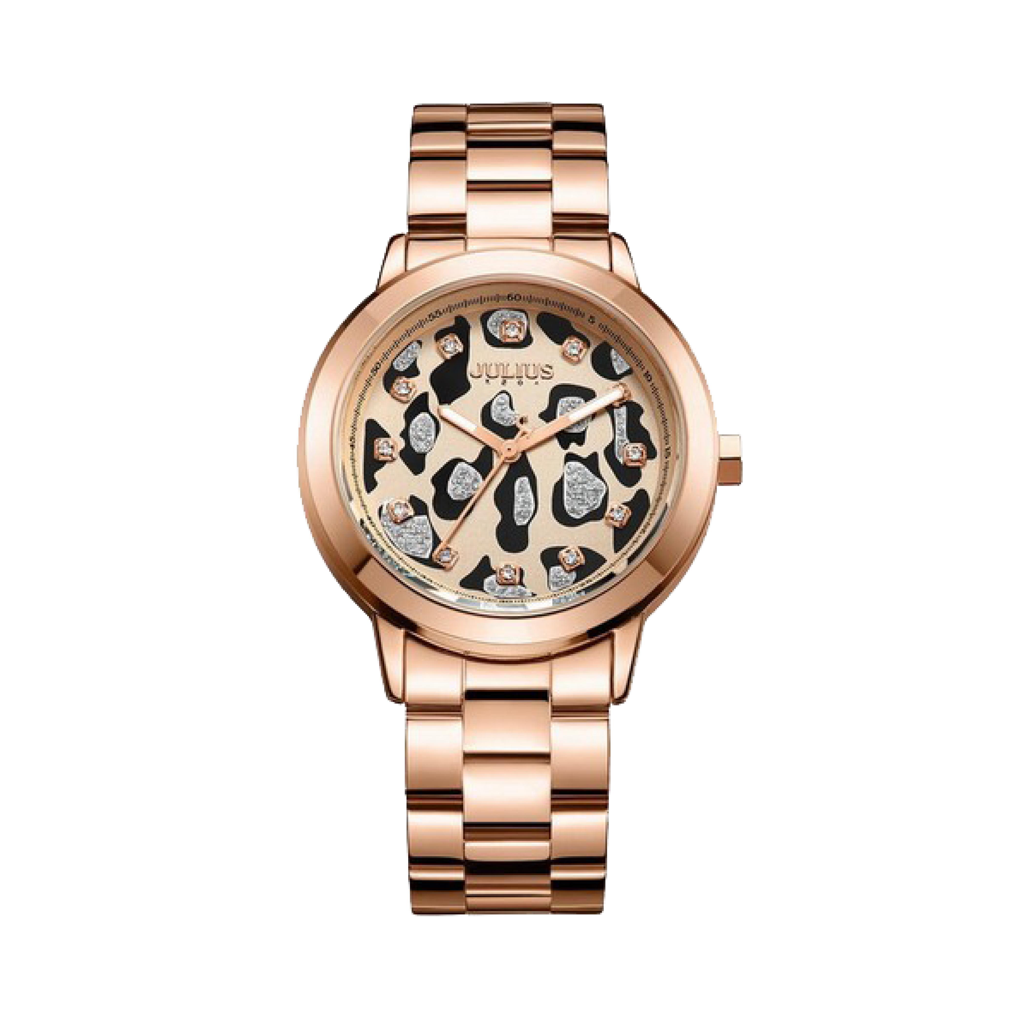 นาฬิกาข้อมือผู้หญิง JULIUS JA-1007 B