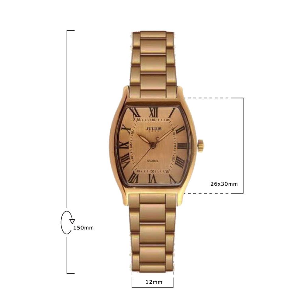 นาฬิกาข้อมือผู้หญิง JULIUS 1027 G