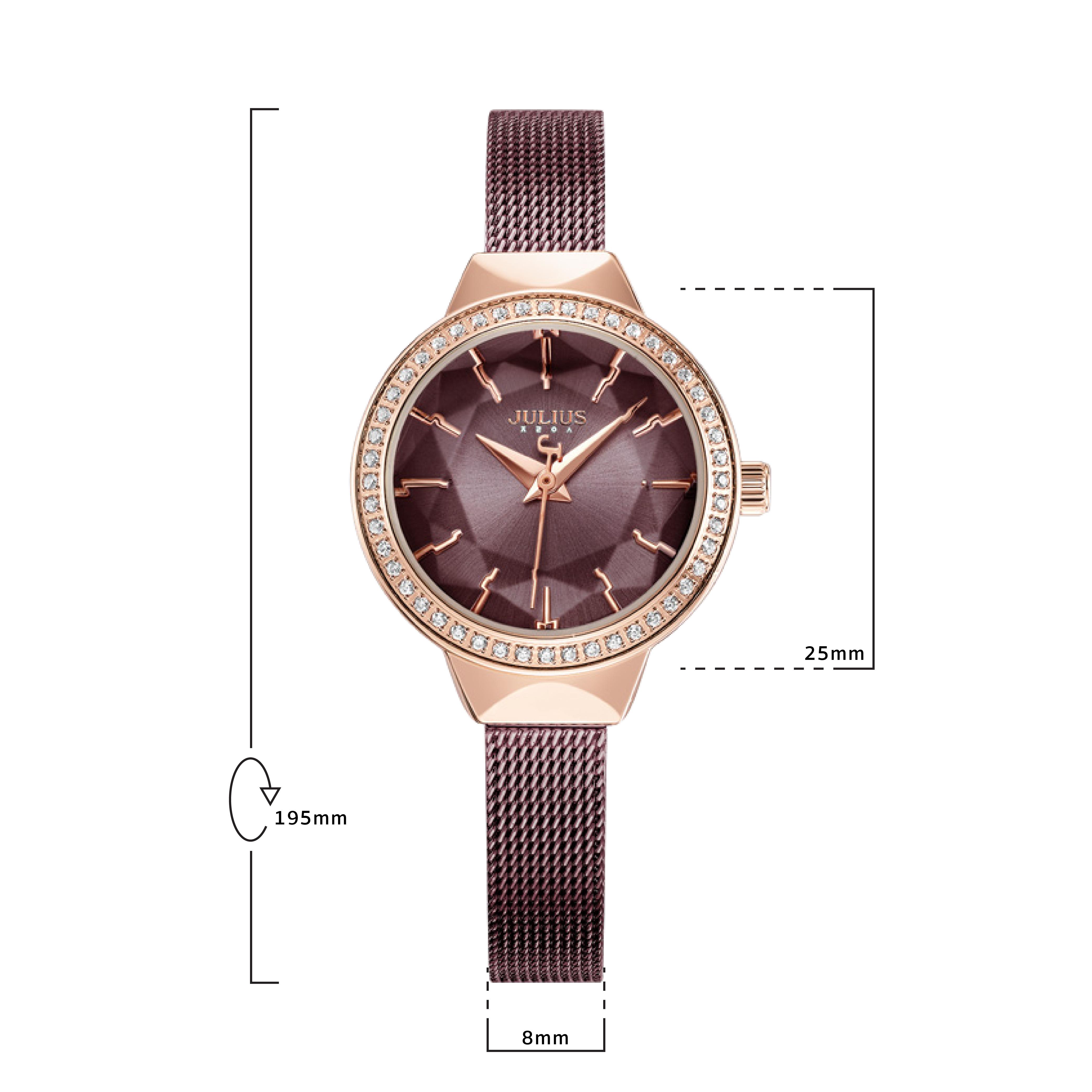 นาฬิกาข้อมือผู้หญิง JULIUS 1043C