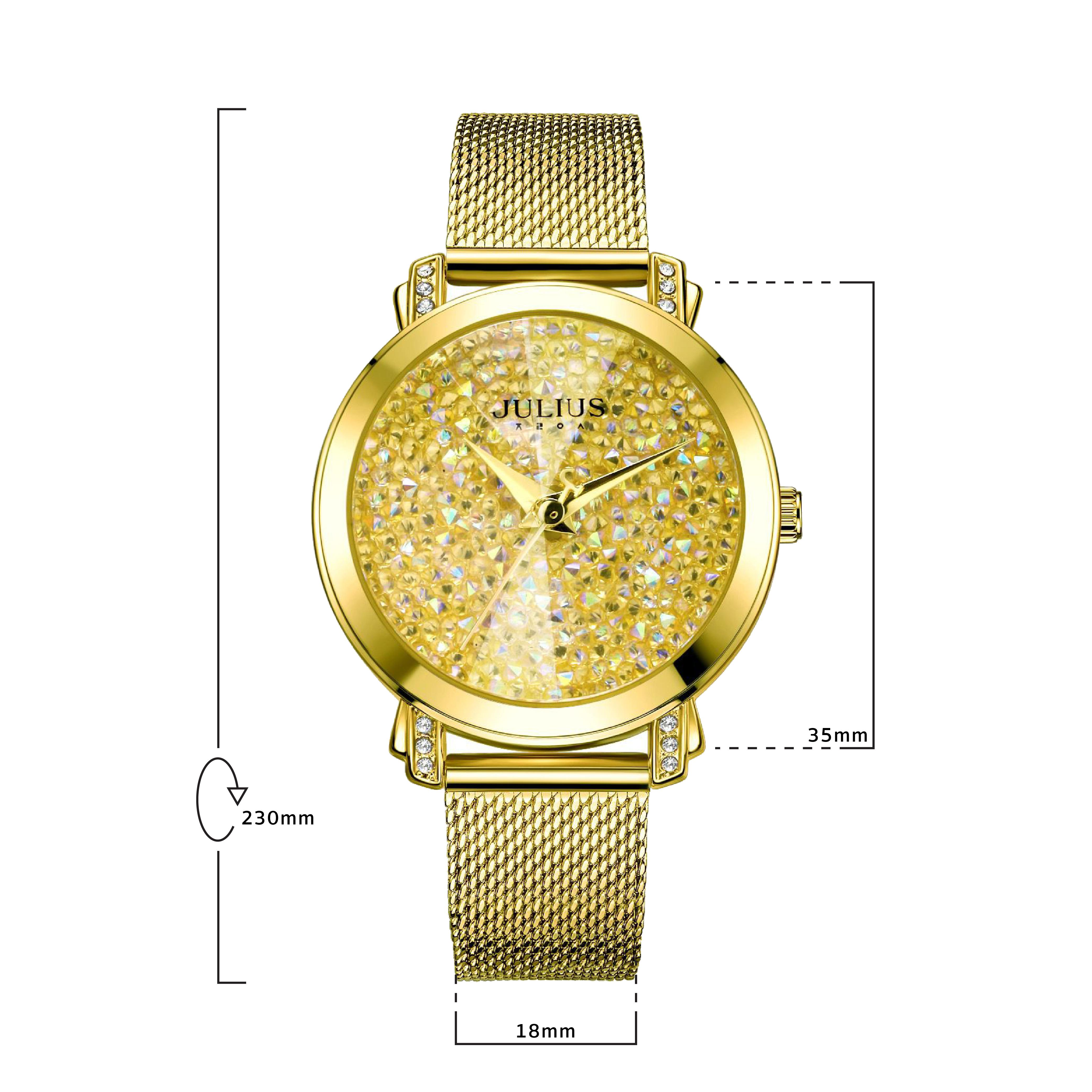นาฬิกาข้อมือผู้หญิง JULIUS 1044B