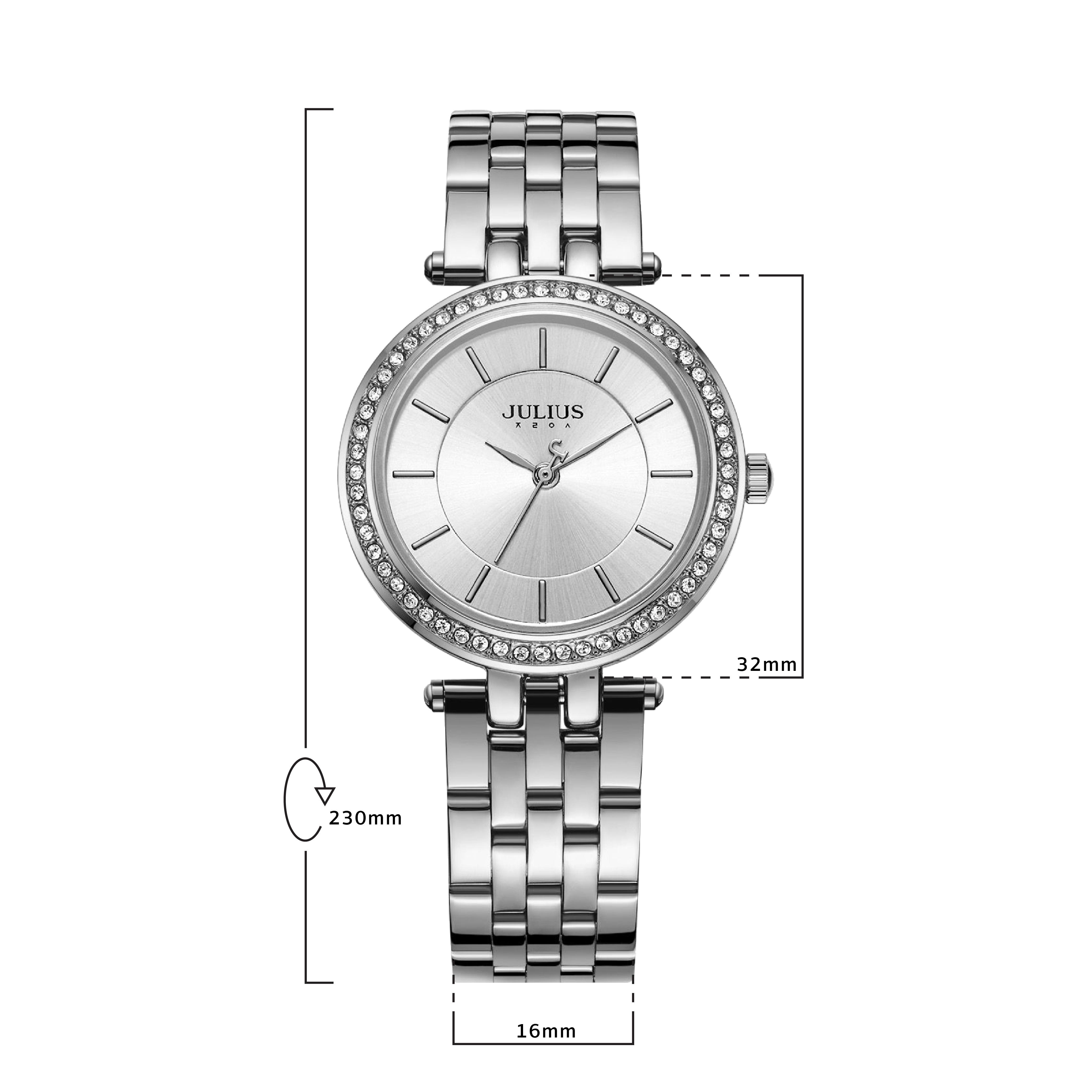 นาฬิกาข้อมือผู้หญิง JULIUS JA-1046 A