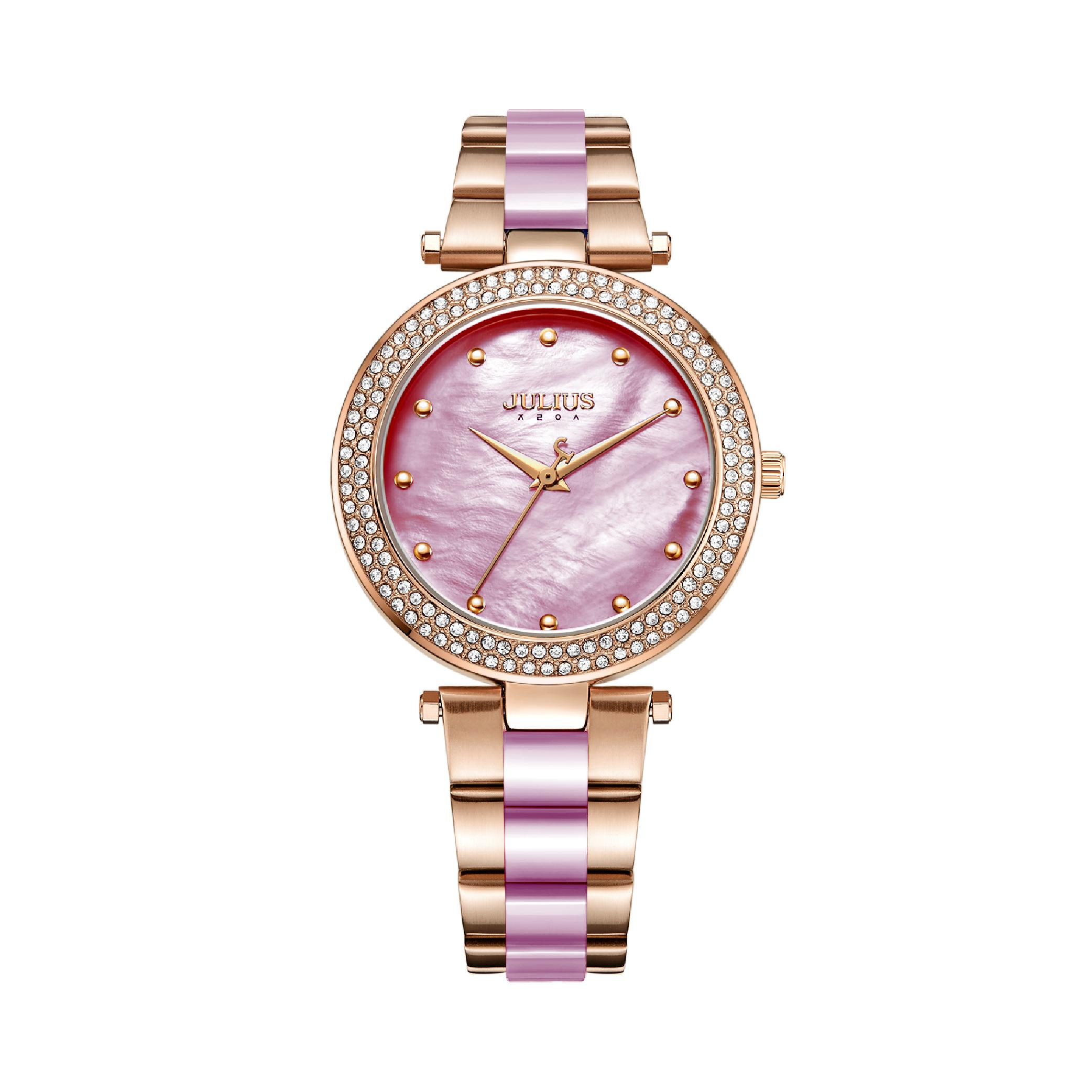 นาฬิกาข้อมือผู้หญิง JULIUS JA-1051 G
