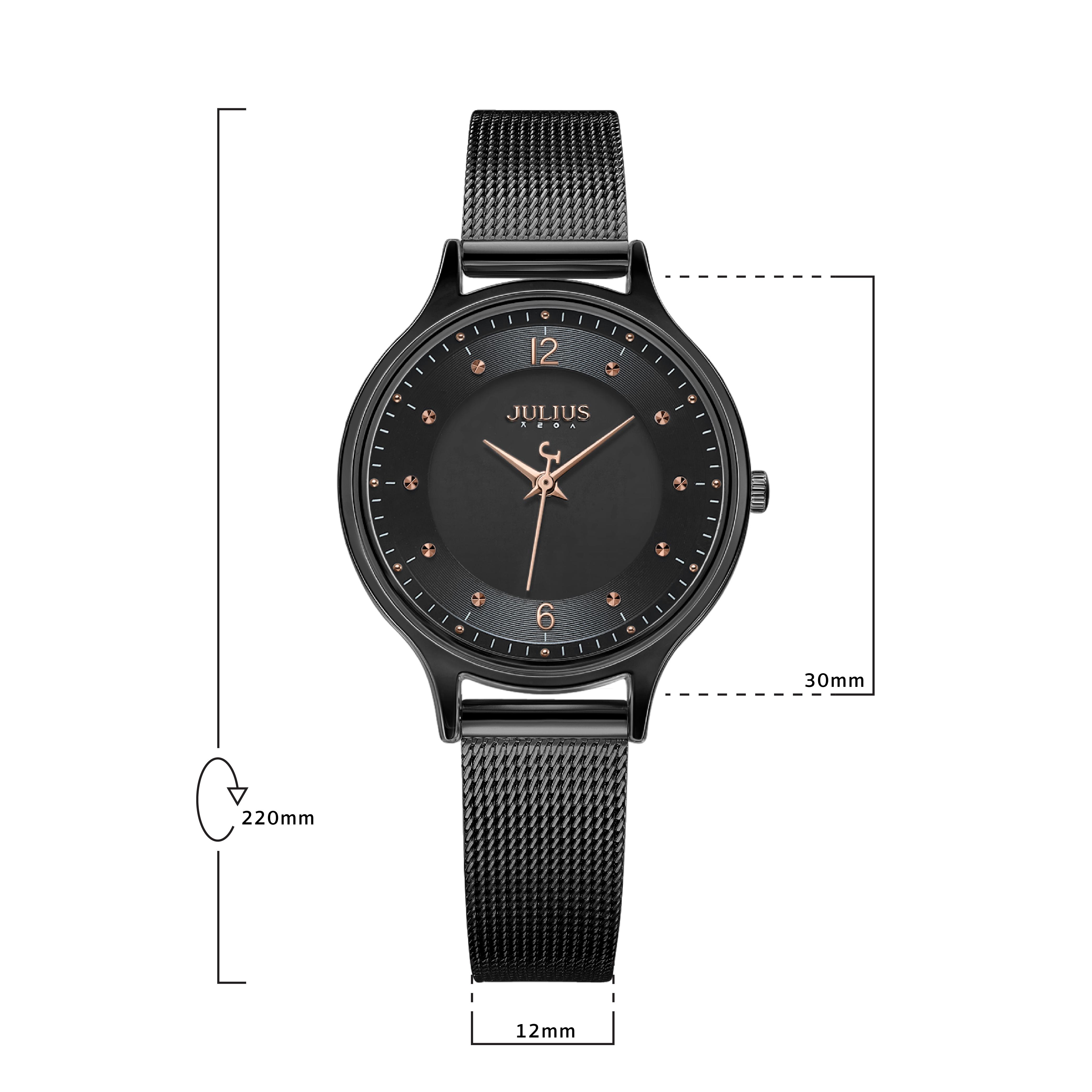 นาฬิกาข้อมือผู้หญิง JULIUS JA-1060 E
