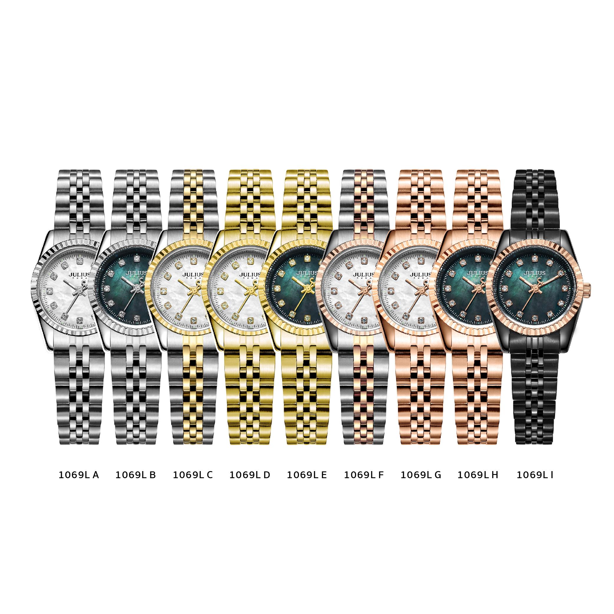 นาฬิกาข้อมือผู้หญิง JULIUS 1069L I