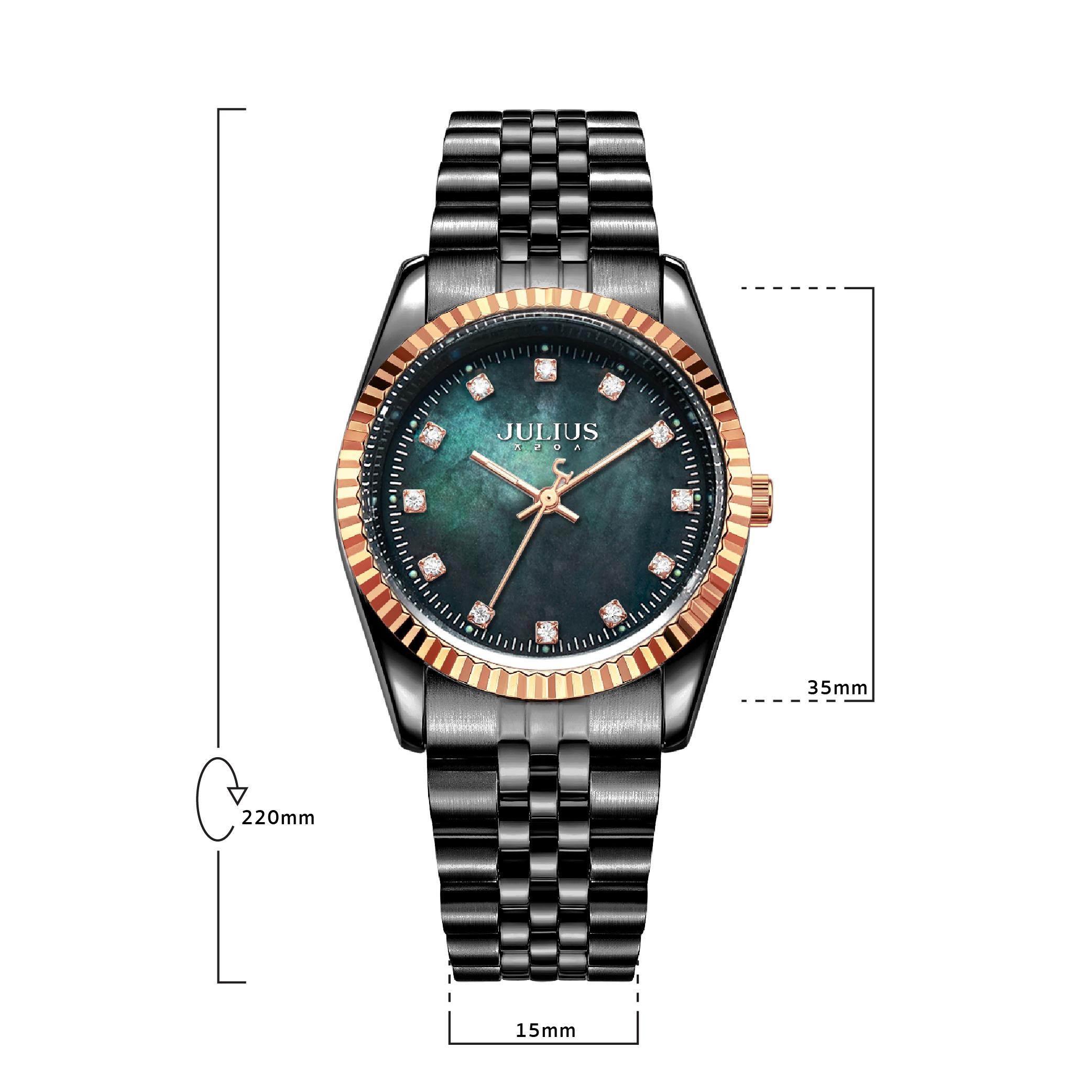 นาฬิกาข้อมือผู้หญิง JULIUS JA-1069 MI