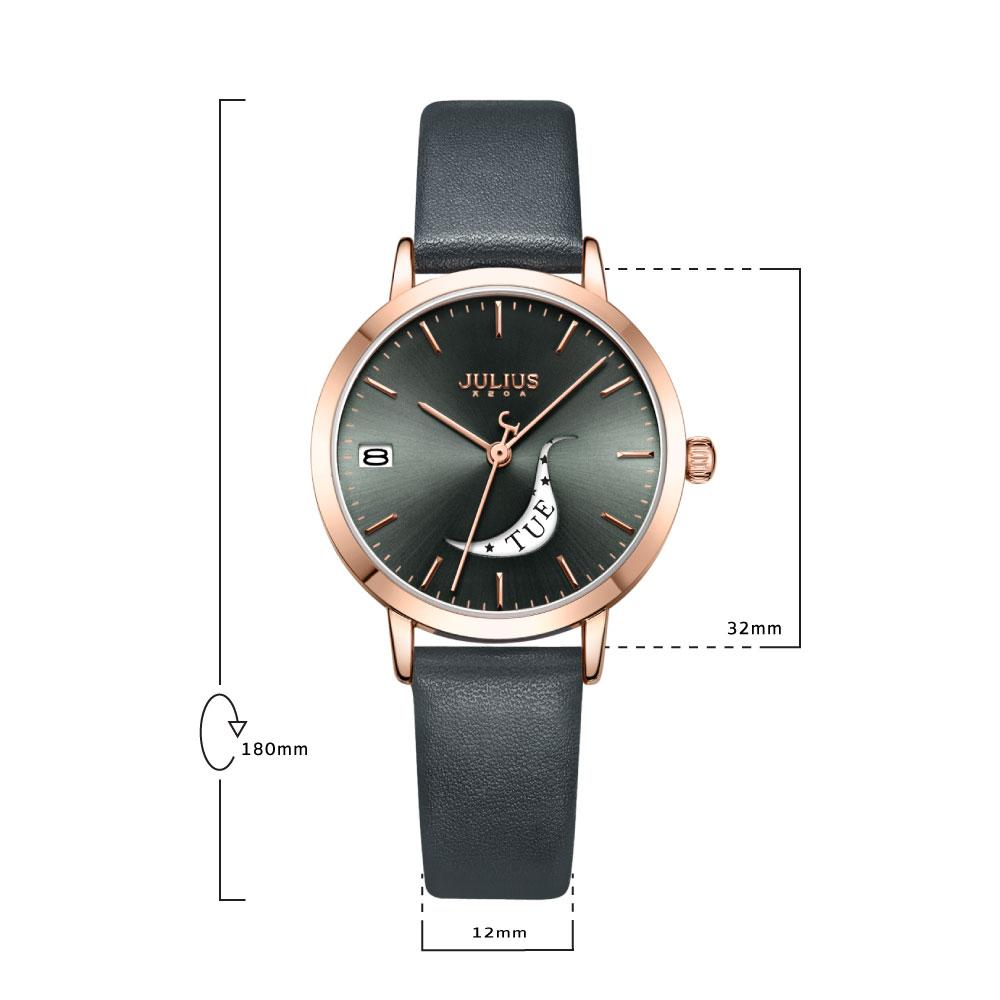 นาฬิกาข้อมือผู้หญิง JULIUS 1076 E