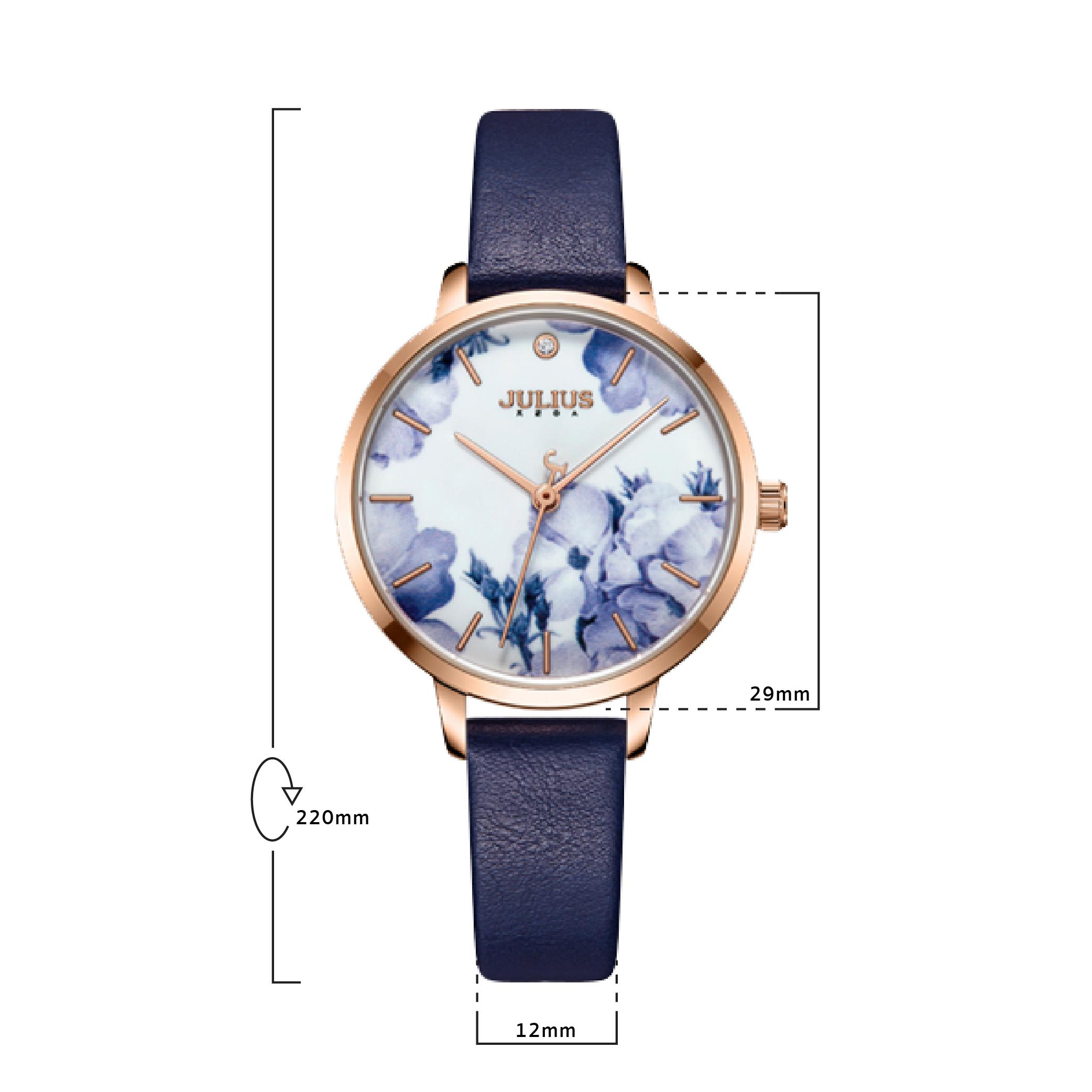 นาฬิกาข้อมือผู้หญิง JULIUS JA-1101 E