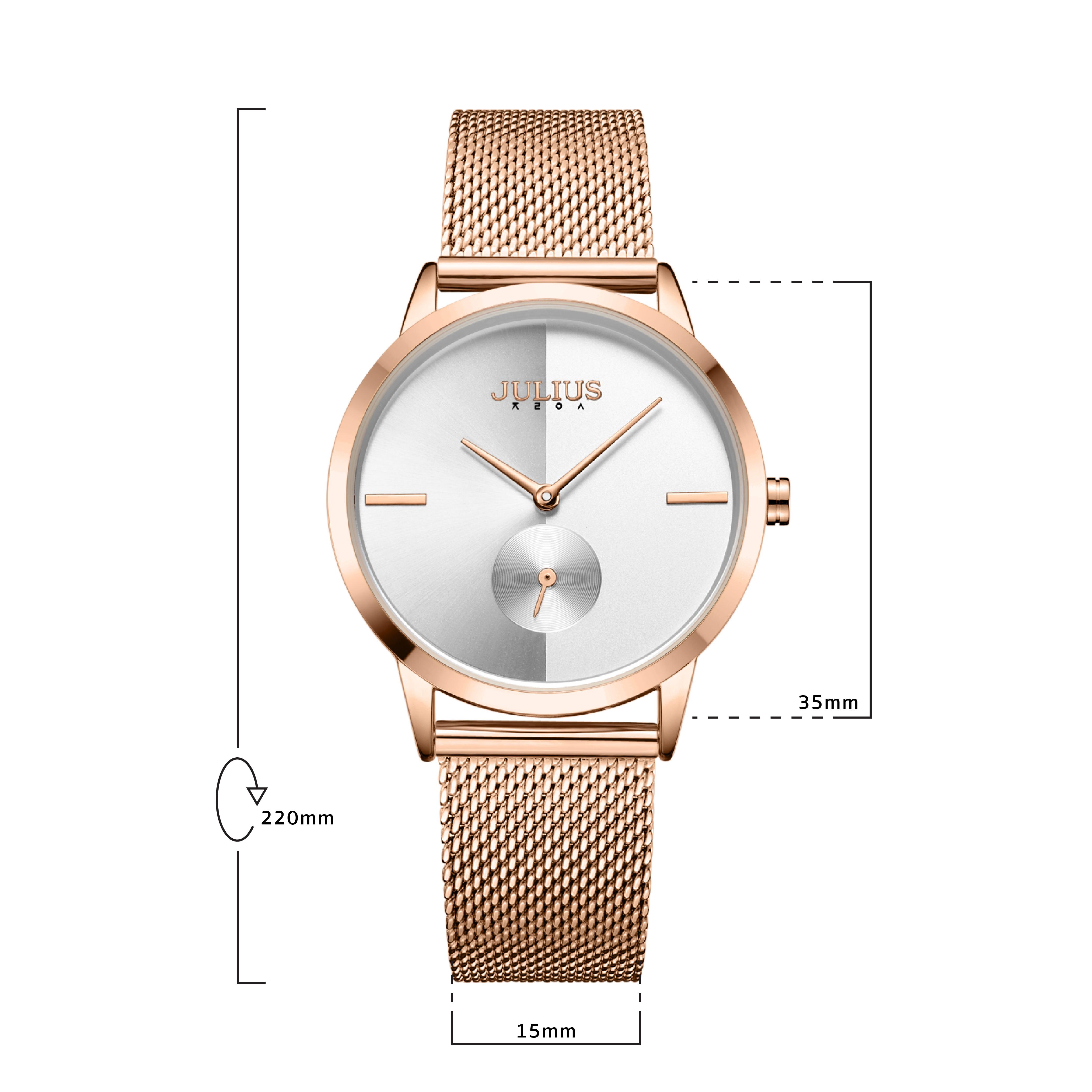 นาฬิกาข้อมือผู้หญิง JULIUS JA-1110 B