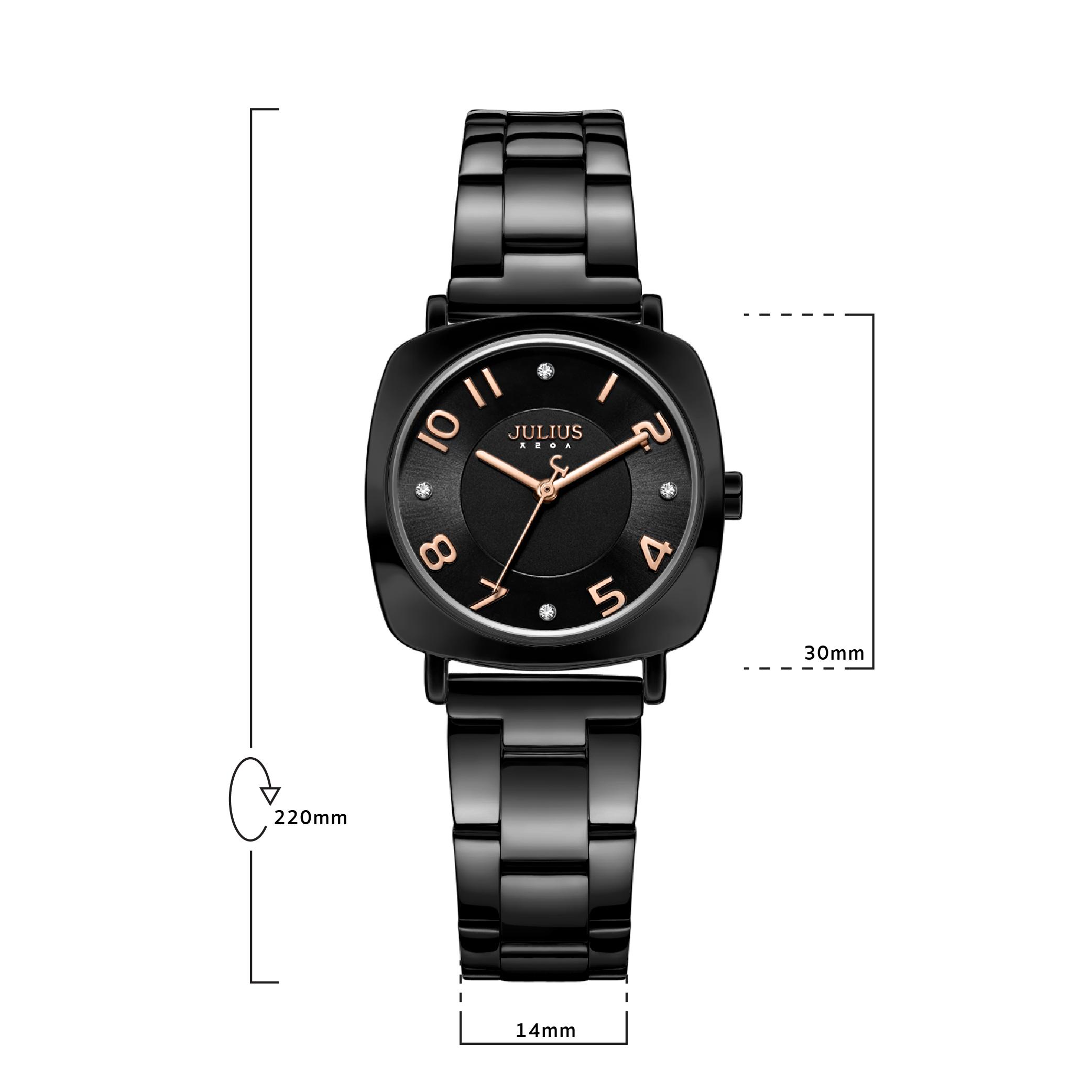 นาฬิกาข้อมือผู้หญิง JULIUS JA-1113 G