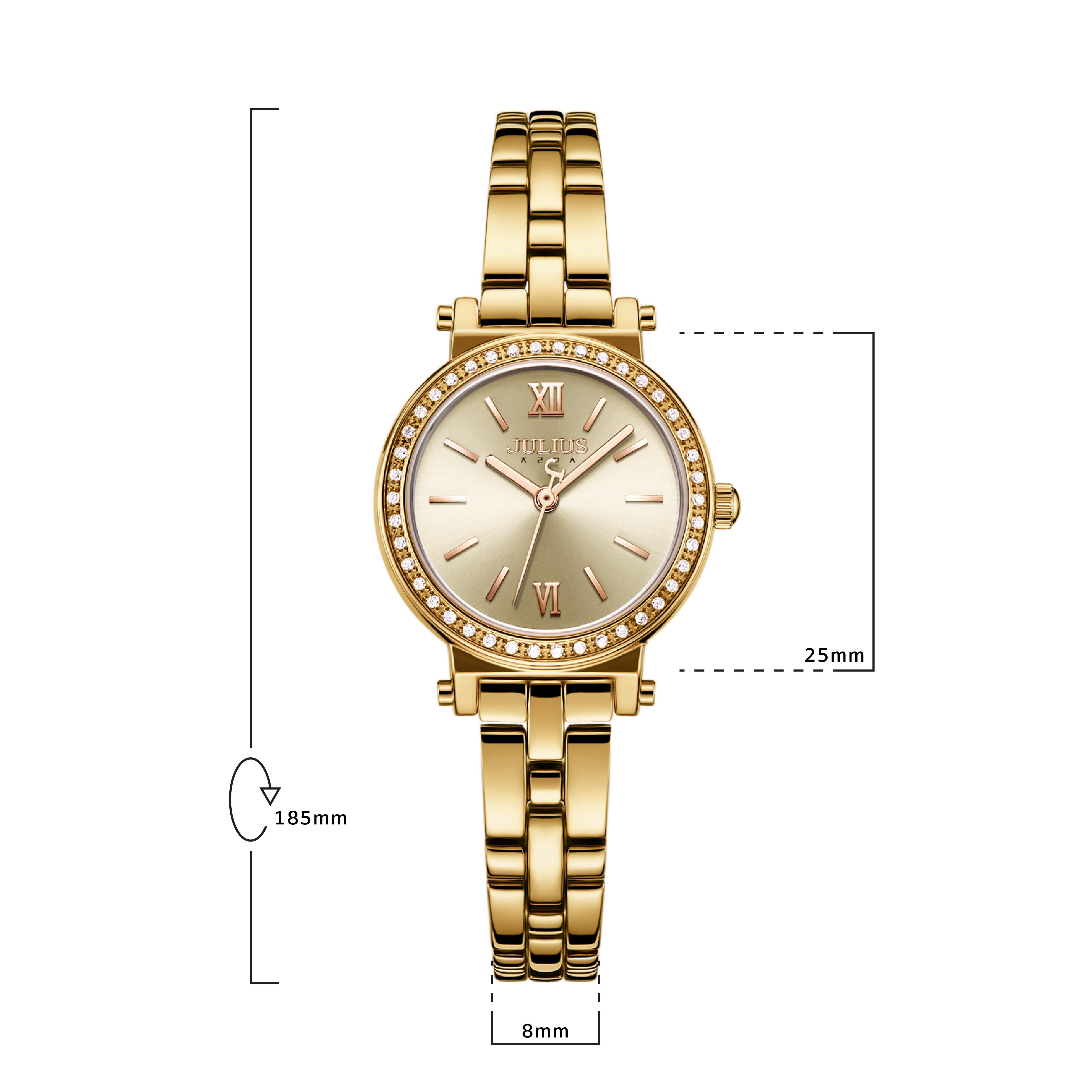 นาฬิกาข้อมือผู้หญิง JULIUS 1124E