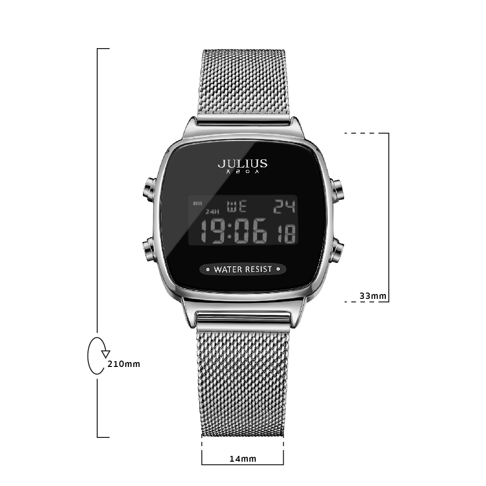 นาฬิกาข้อมือผู้หญิง JULIUS JA-1160 A