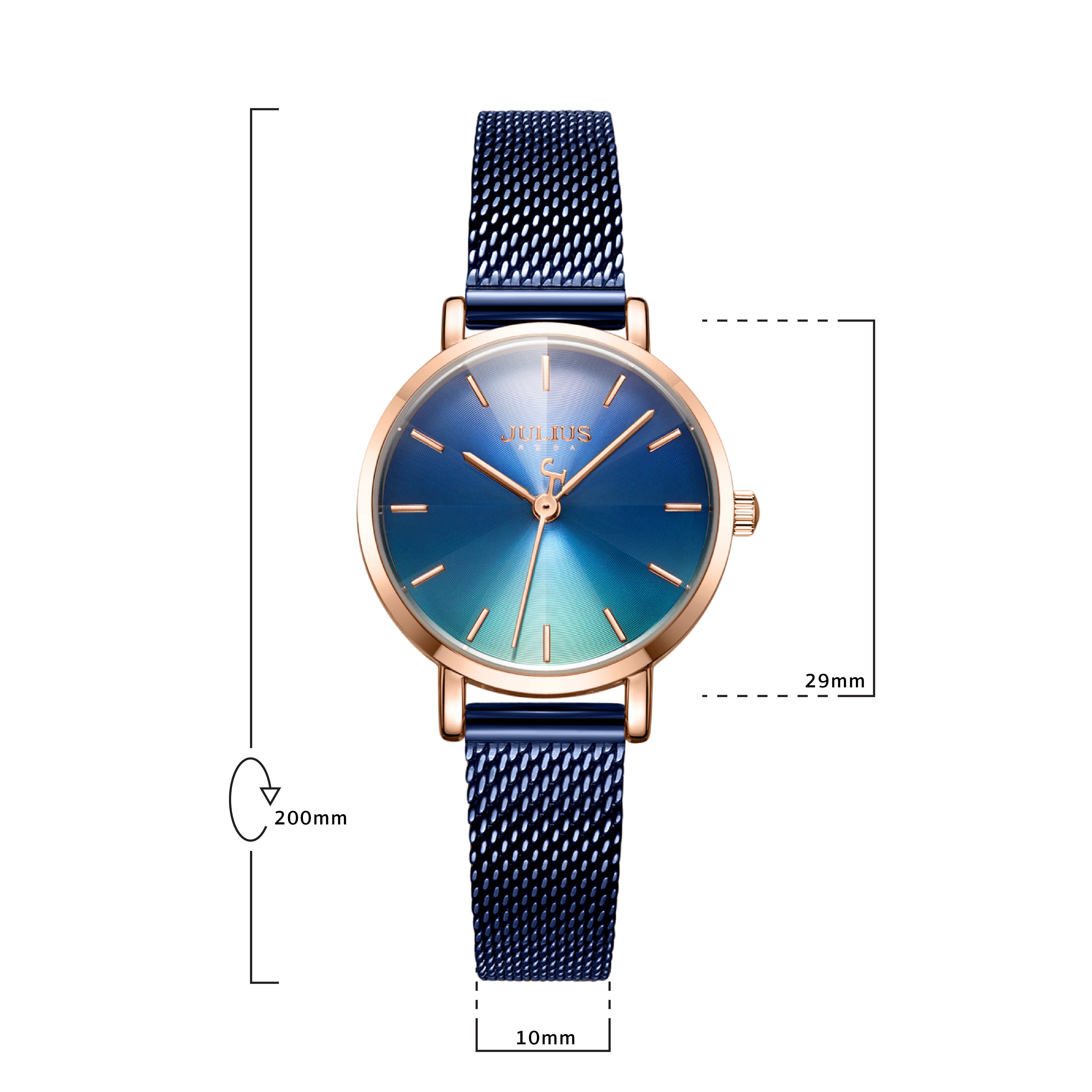 นาฬิกาข้อมือผู้หญิง JULIUS 1163E