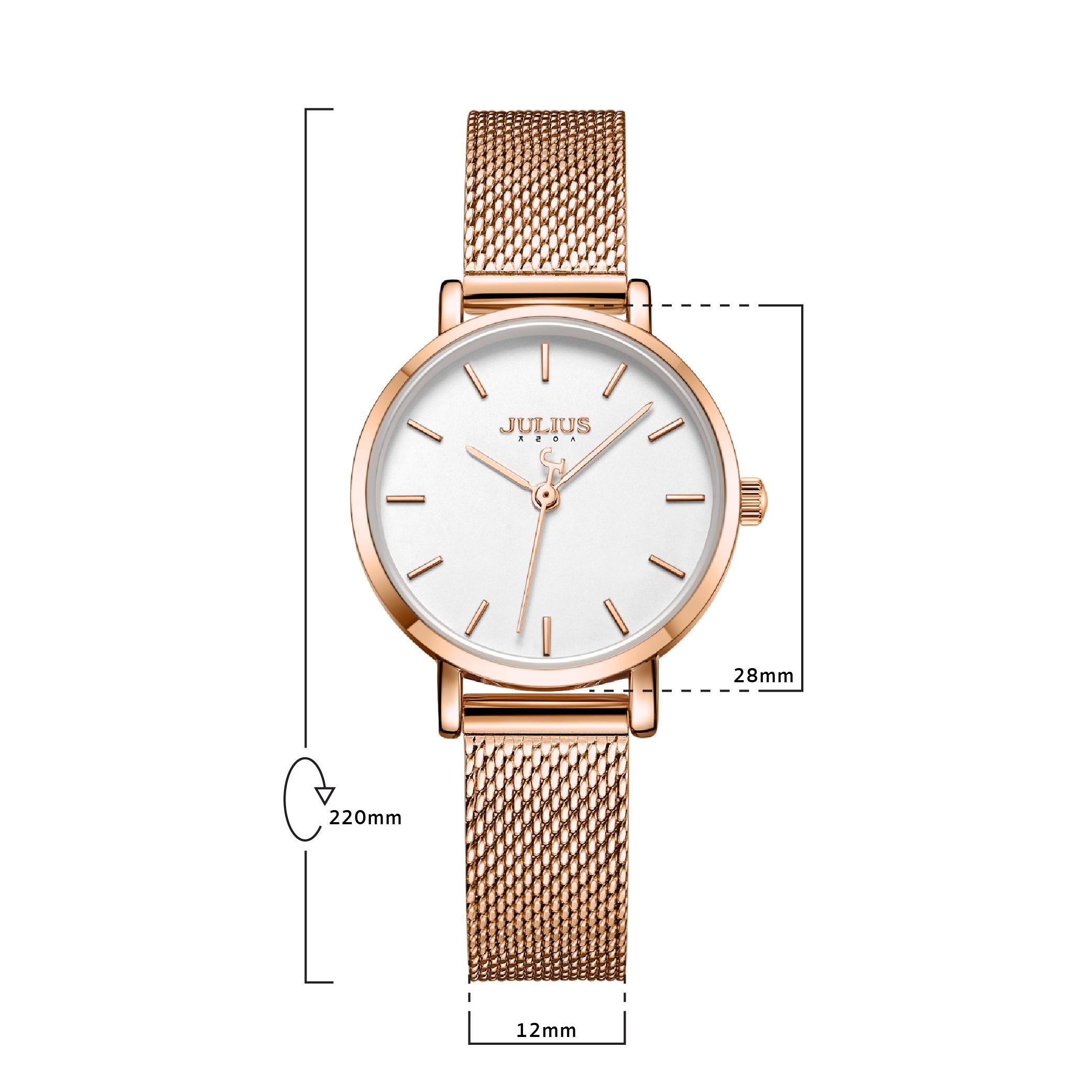 นาฬิกาข้อมือผู้หญิง JULIUS 1164L C