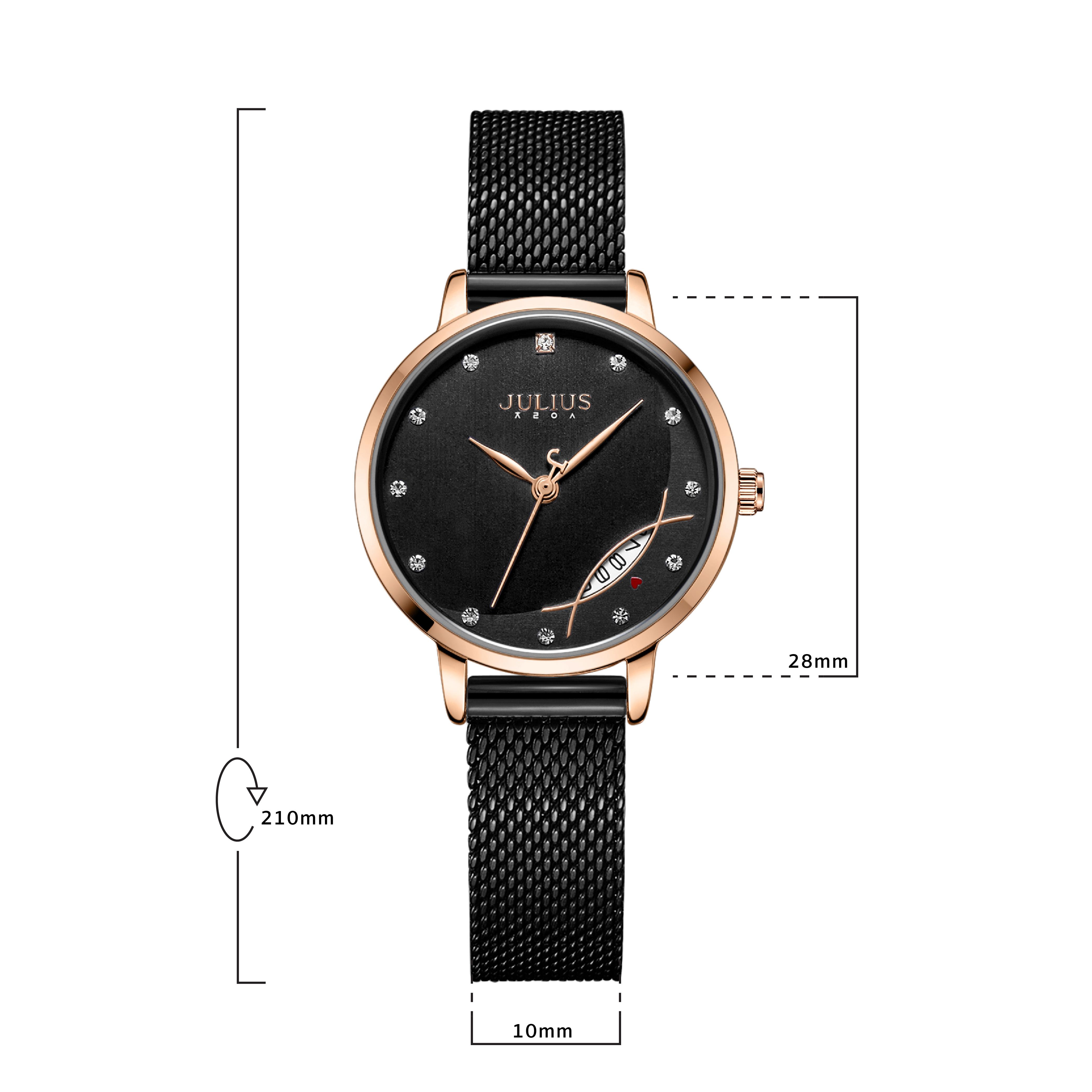 นาฬิกาข้อมือผู้หญิง JULIUS 1179D