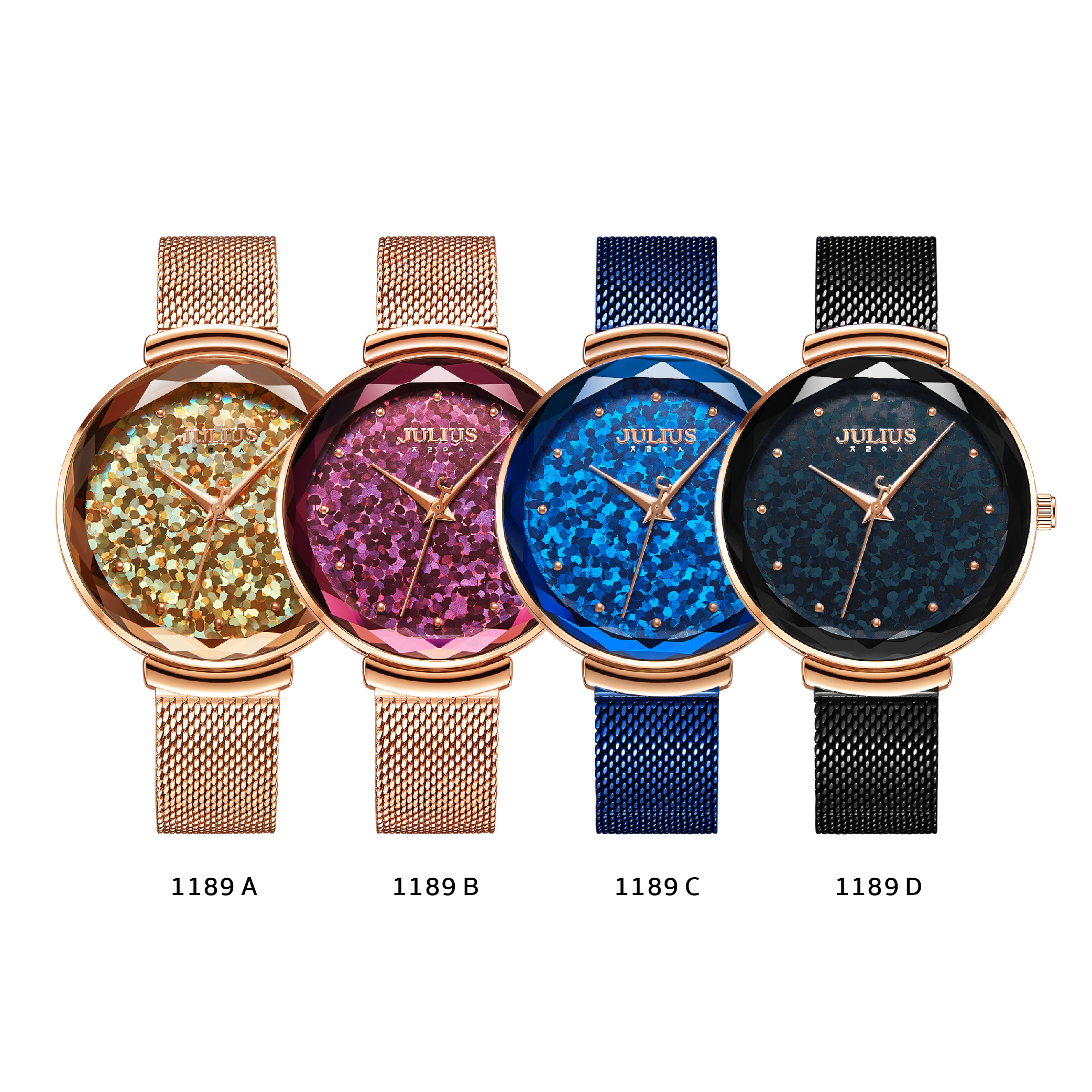 นาฬิกาข้อมือผู้หญิง JULIUS JA-1189 D