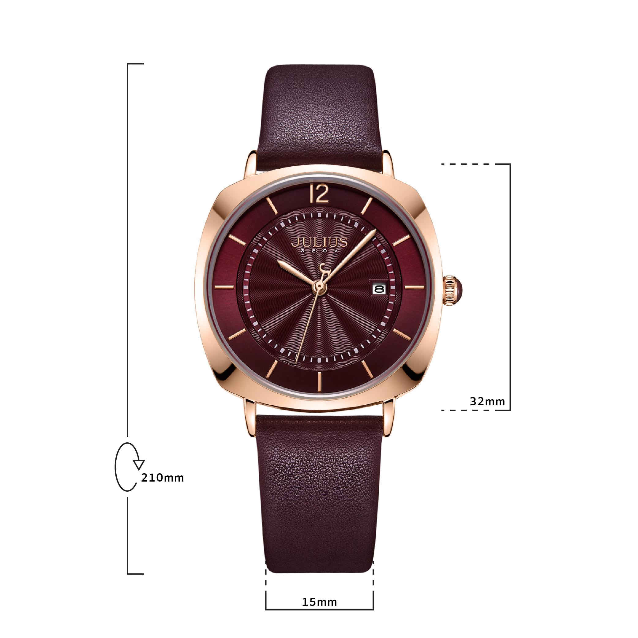 นาฬิกาข้อมือผู้หญิง JULIUS 1190L C