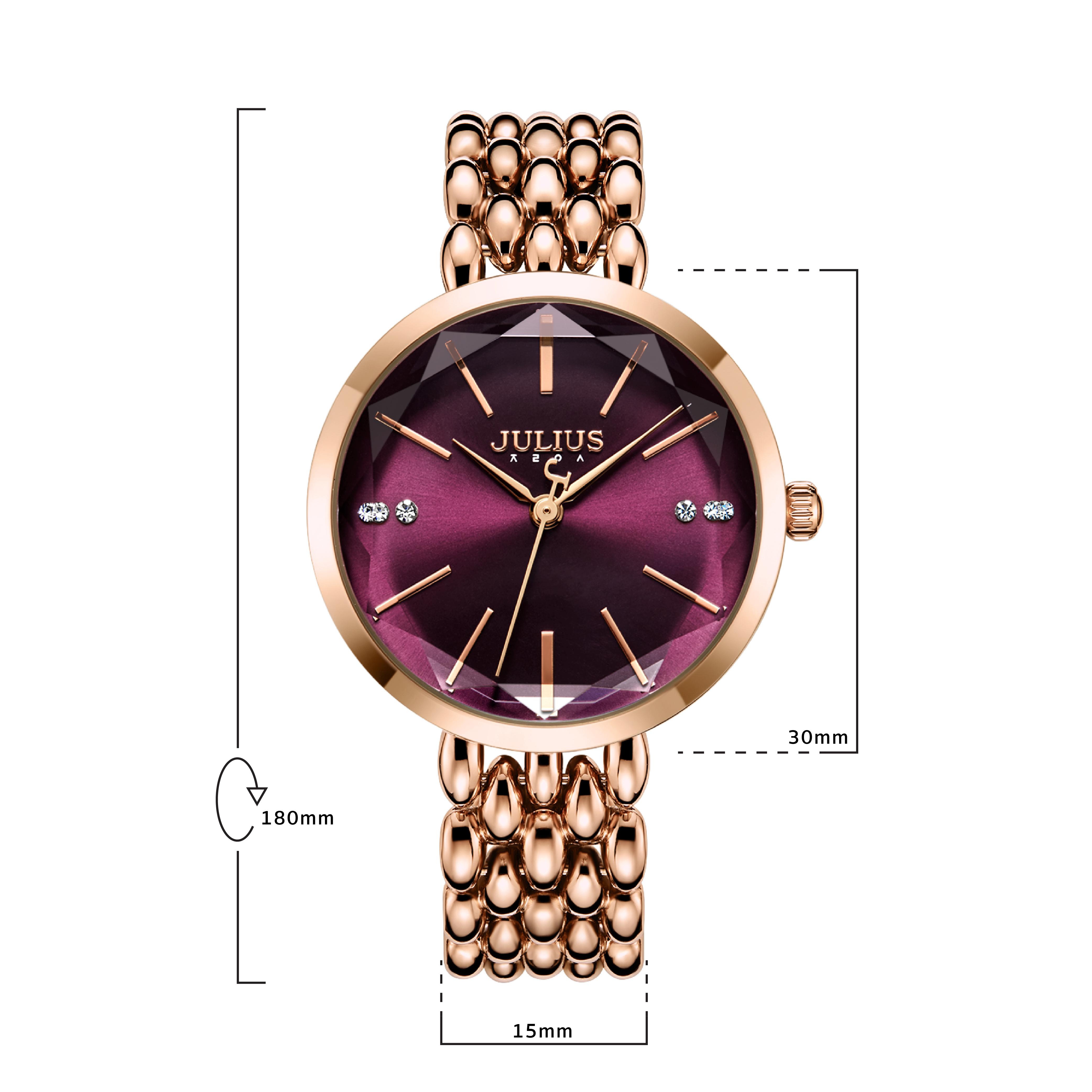 นาฬิกาข้อมือผู้หญิง JULIUS JA-1193 D