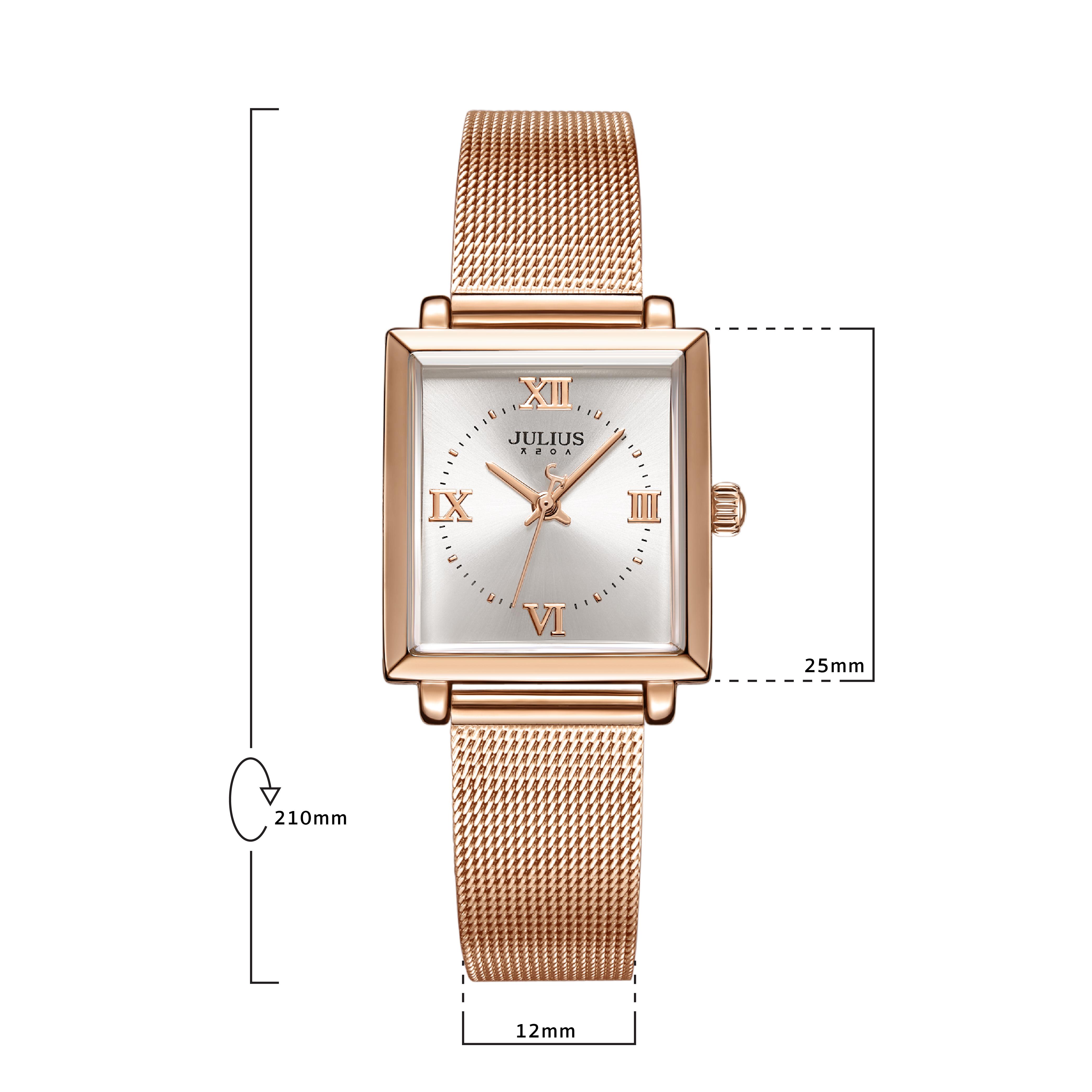 นาฬิกาข้อมือผู้หญิง JULIUS JA-1202 B