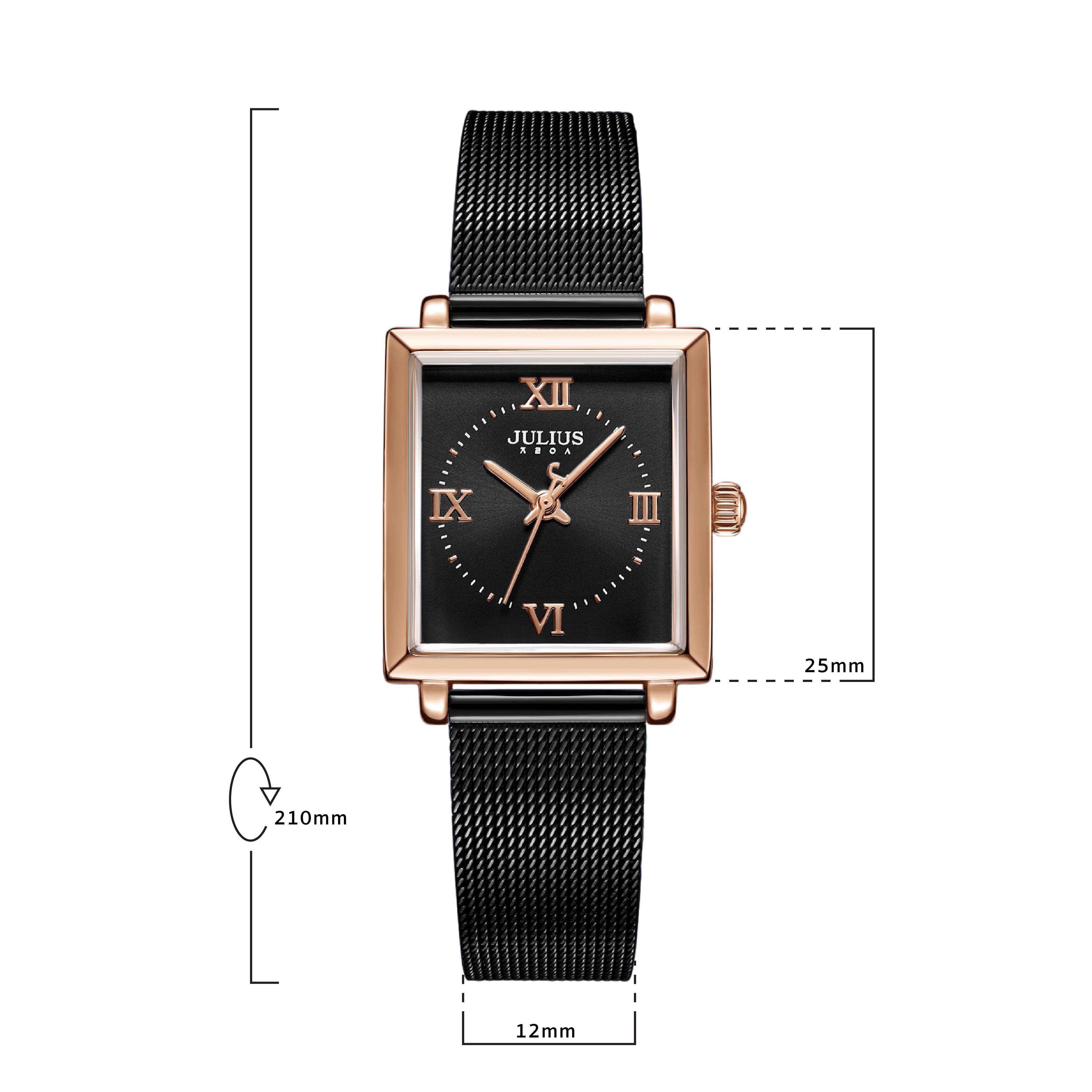 นาฬิกาข้อมือผู้หญิง JULIUS 1202D