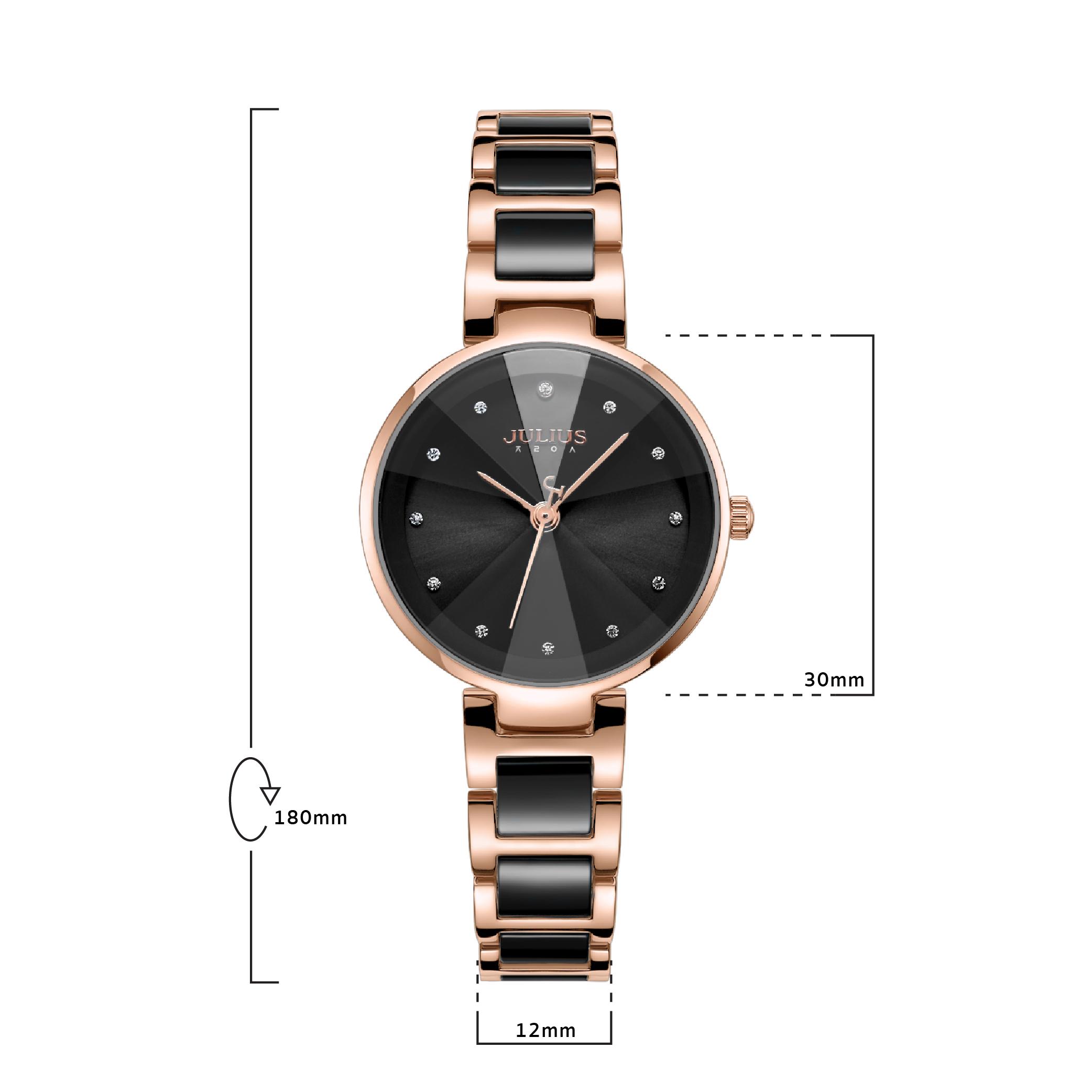 นาฬิกาข้อมือผู้หญิง JULIUS JA-1209 D