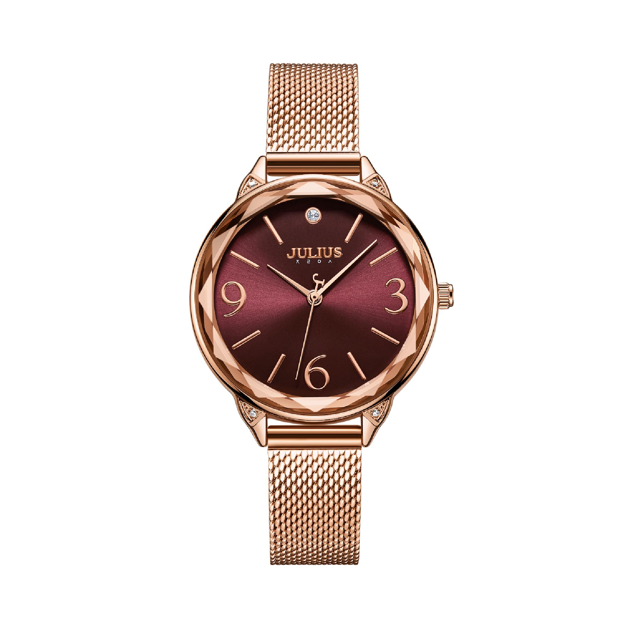 นาฬิกาข้อมือผู้หญิง JULIUS JA-1210 B