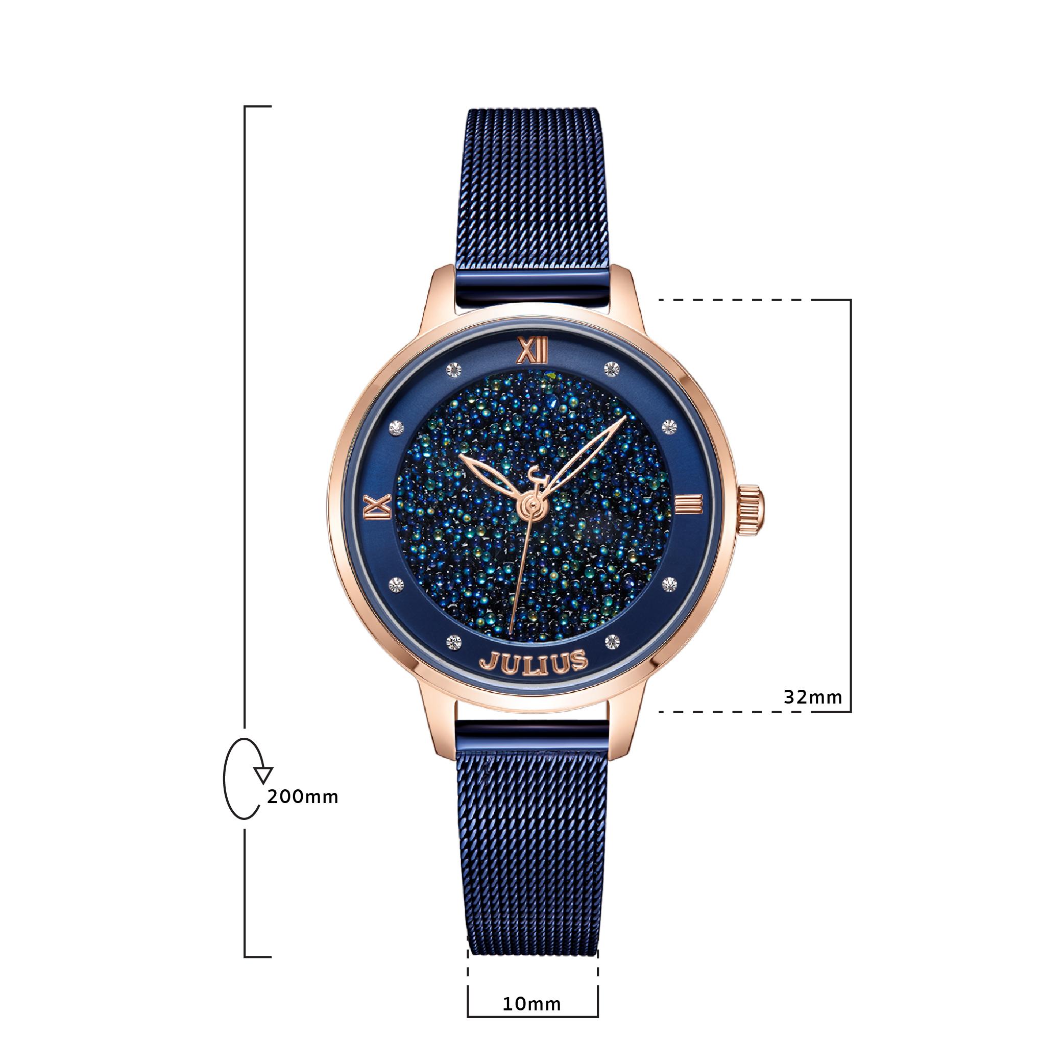 นาฬิกาข้อมือผู้หญิง JULIUS 1216D