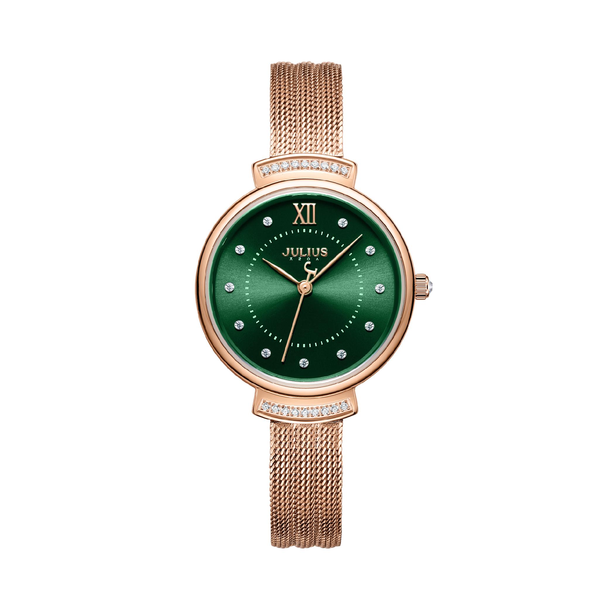 นาฬิกาข้อมือผู้หญิง JULIUS JA-1217 B