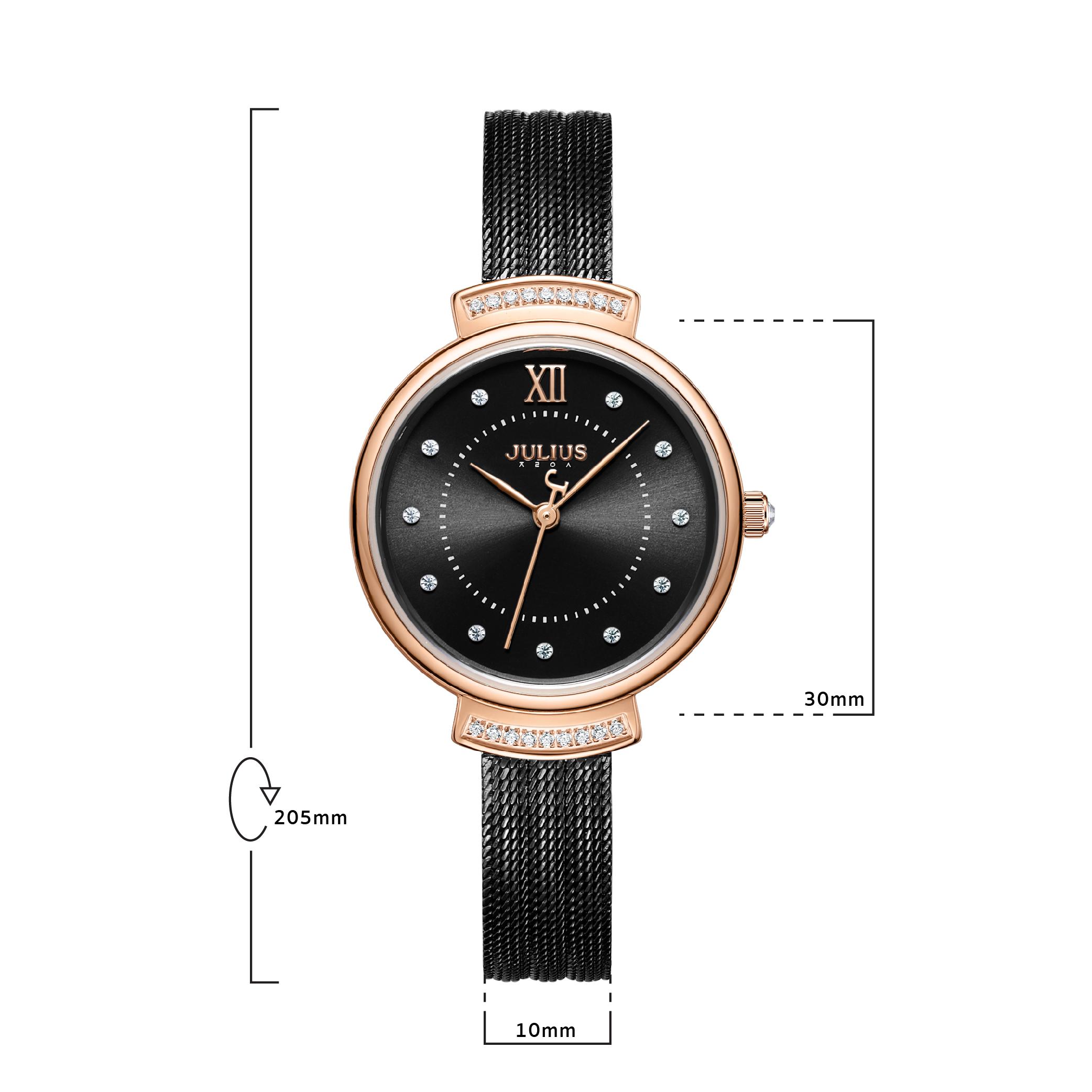 นาฬิกาข้อมือผู้หญิง JULIUS 1217D