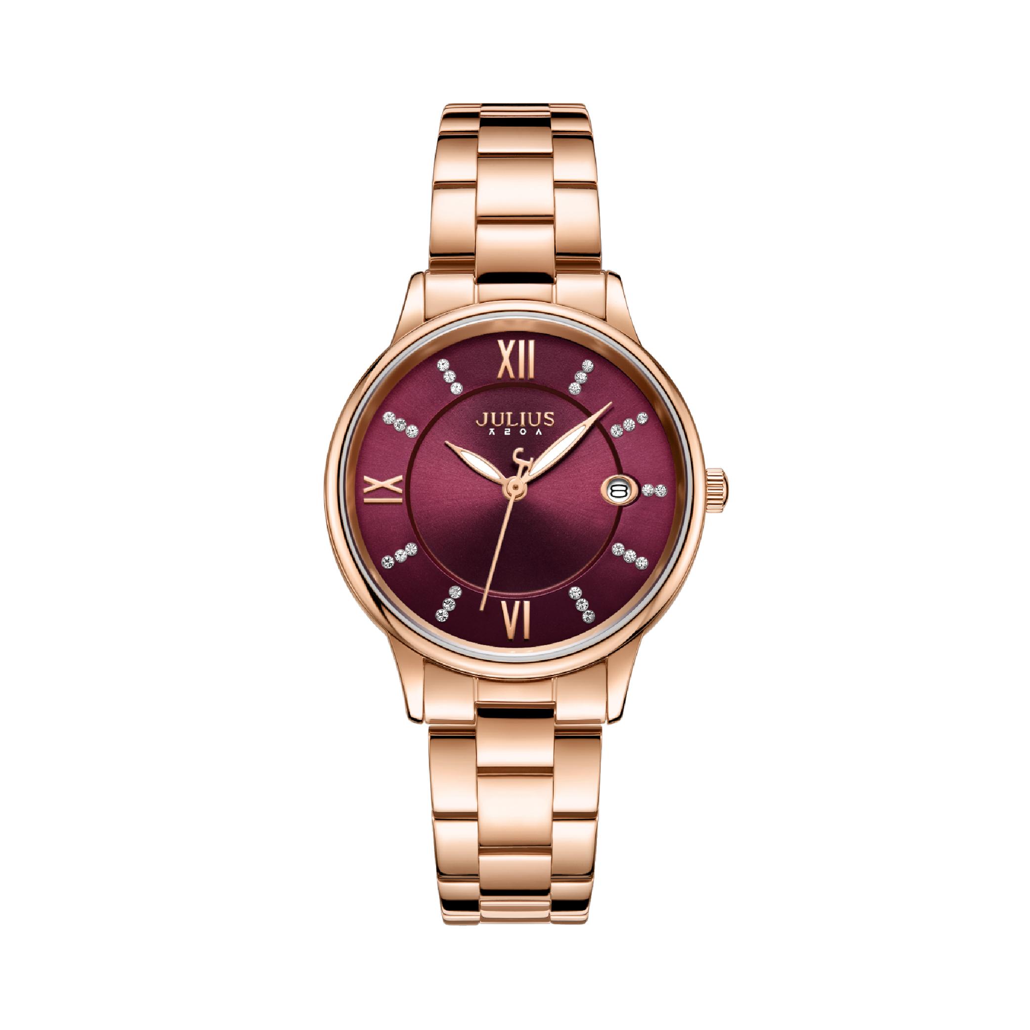 นาฬิกาข้อมือผู้หญิง JULIUS JA-1218 B