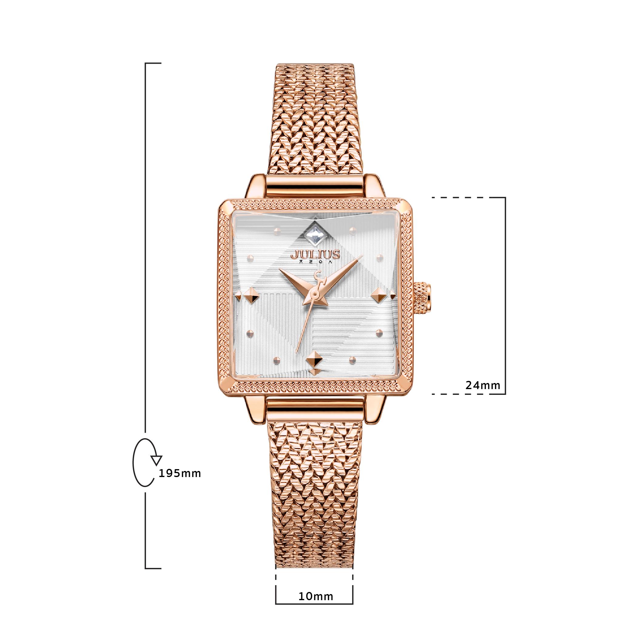 นาฬิกาข้อมือผู้หญิง JULIUS JA-1220 B