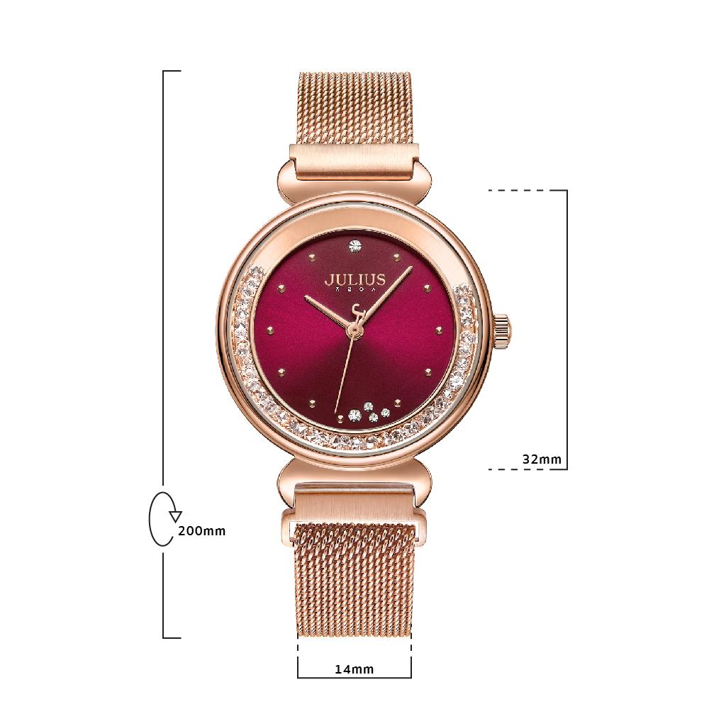 นาฬิกาข้อมือผู้หญิง JULIUS 1224B