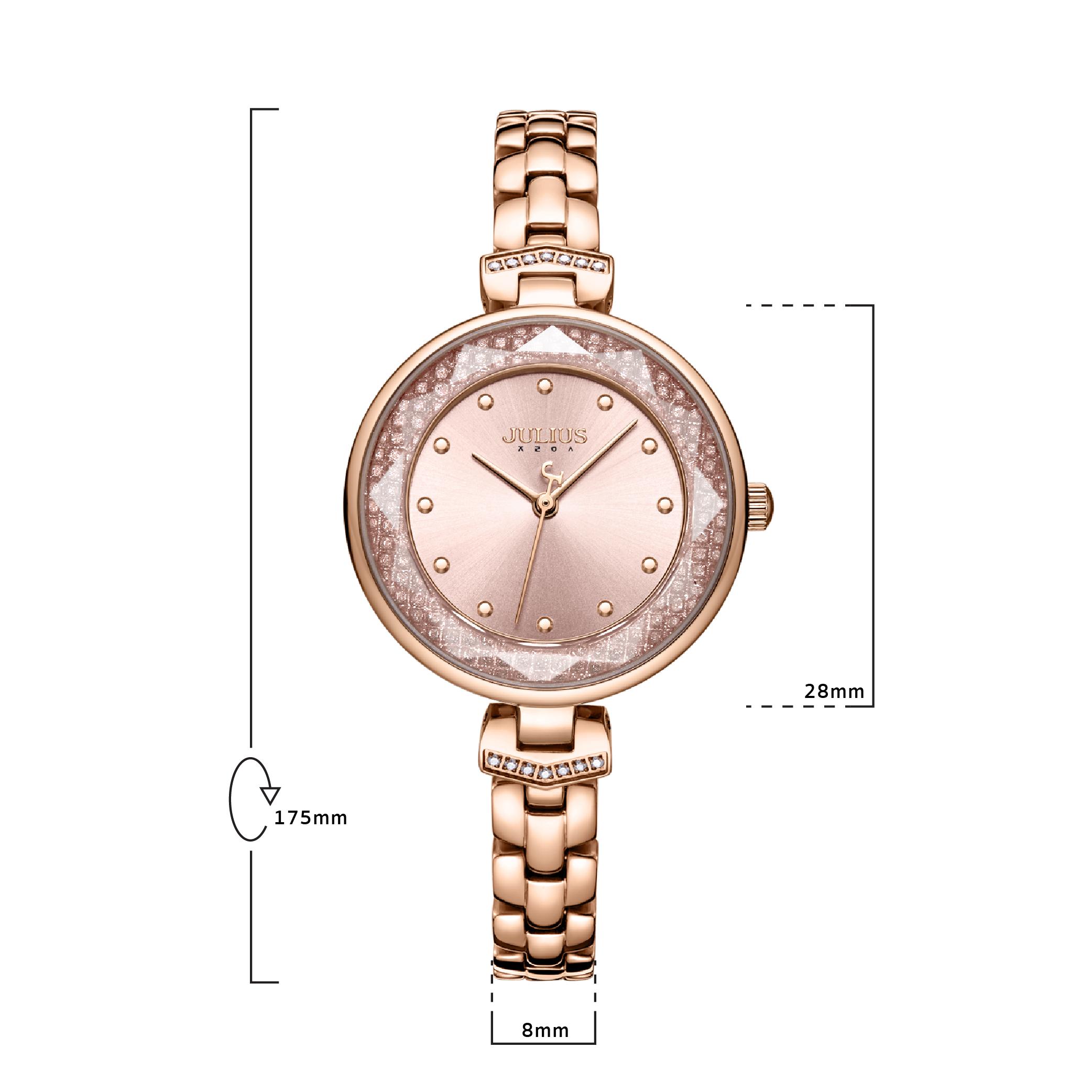 นาฬิกาข้อมือผู้หญิง  JULIUS JA-1227B