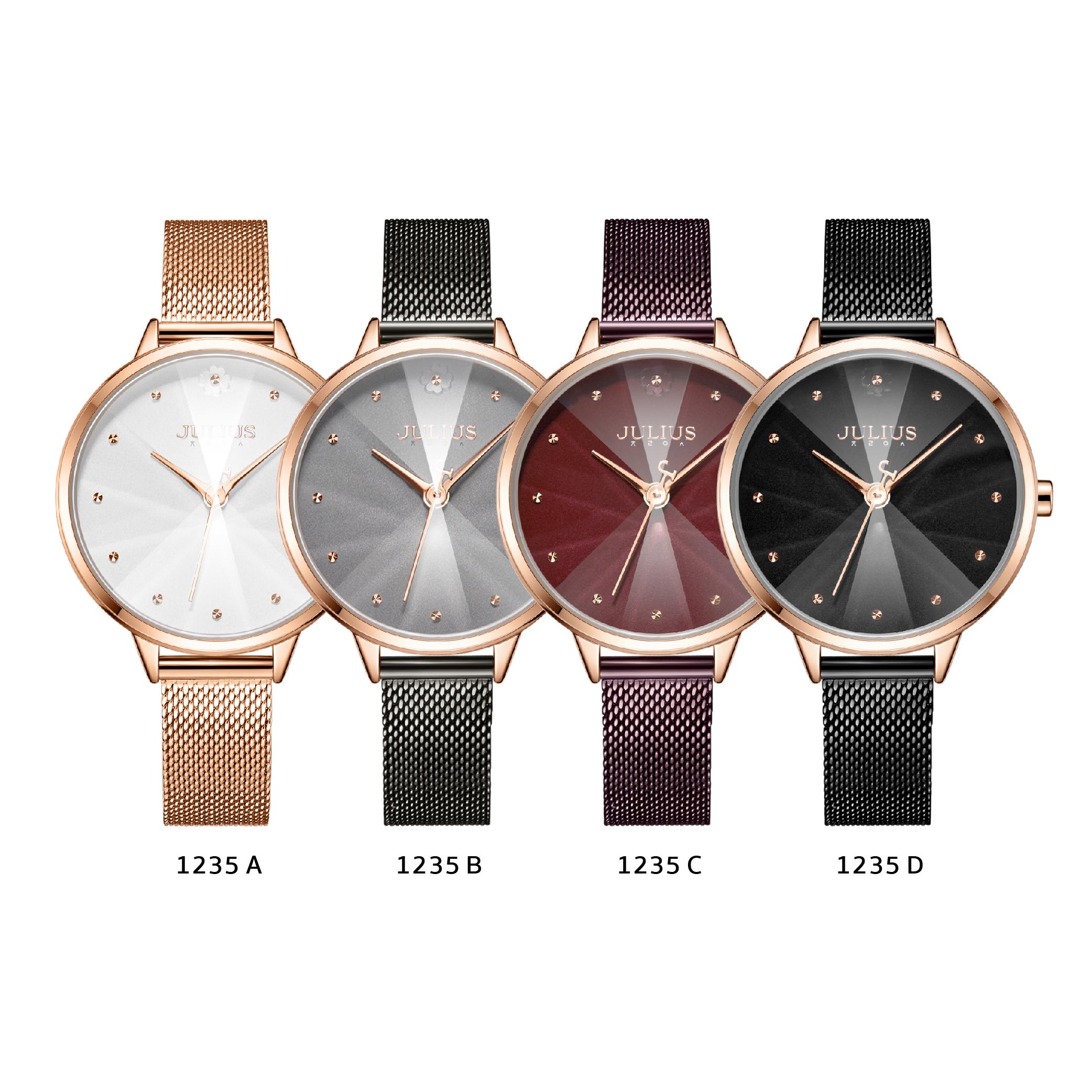 นาฬิกาข้อมือผู้หญิง JULIUS JA-1235 D