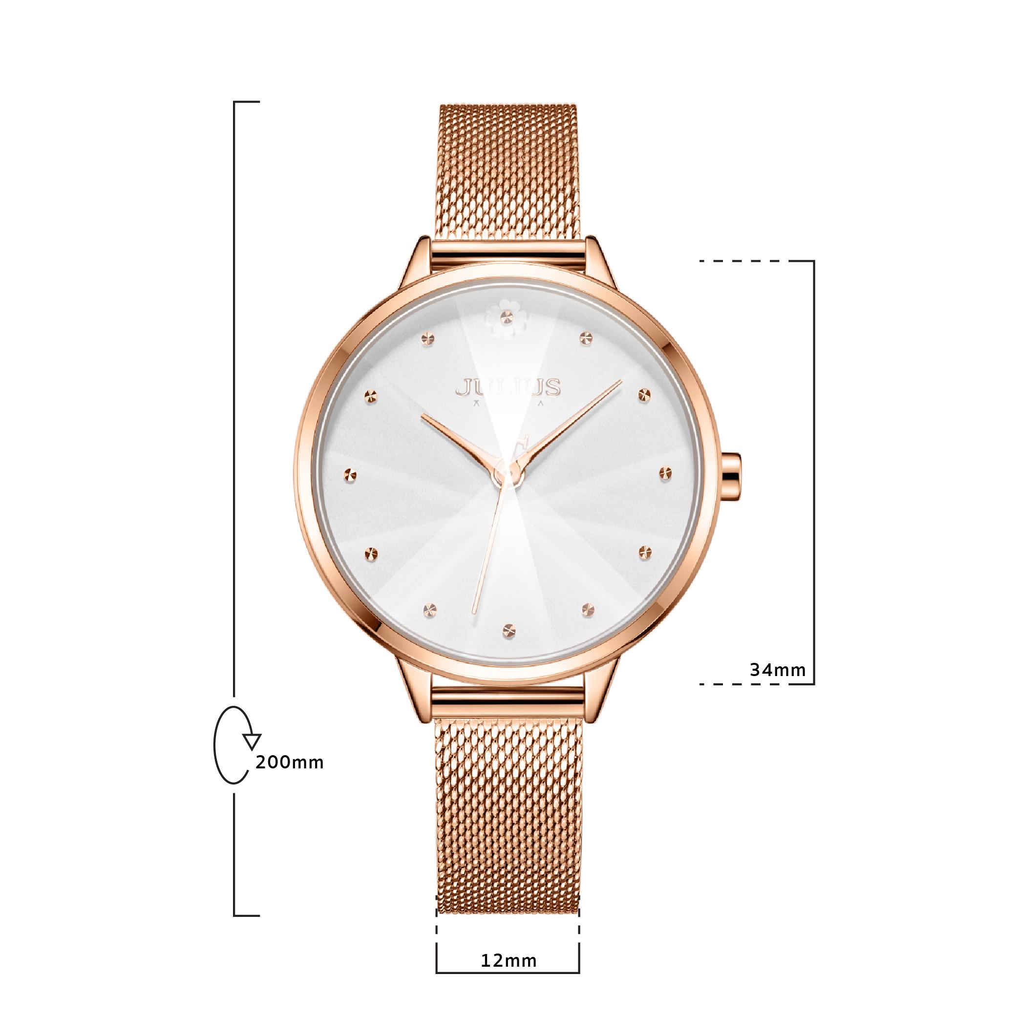 นาฬิกาข้อมือผู้หญิง JULIUS 1235A