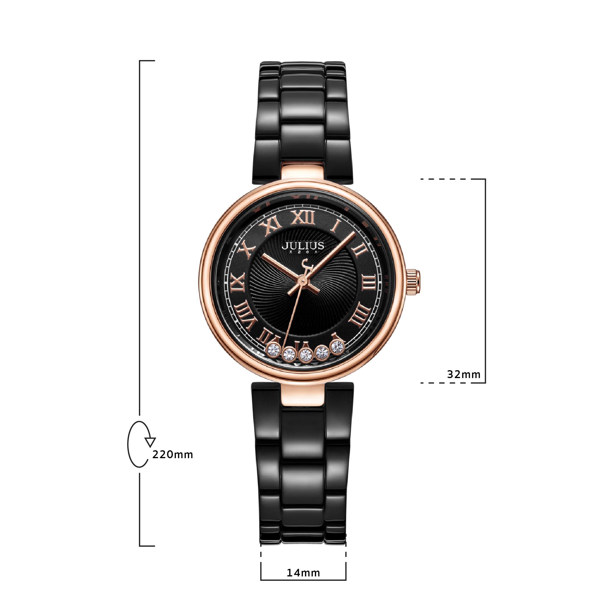 นาฬิกาข้อมือผู้หญิง JULIUS 1236 D