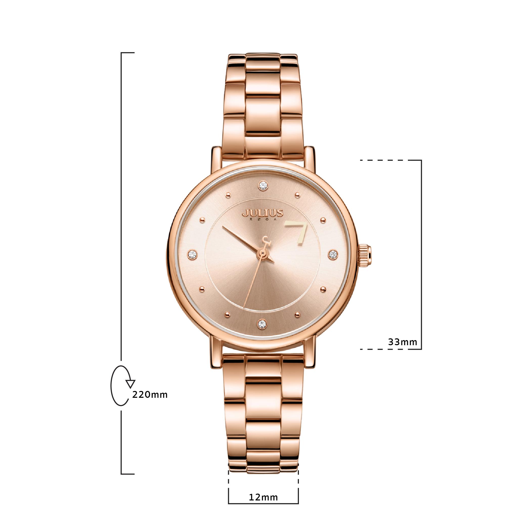 นาฬิกาข้อมือผู้หญิง JULIUS 1248B