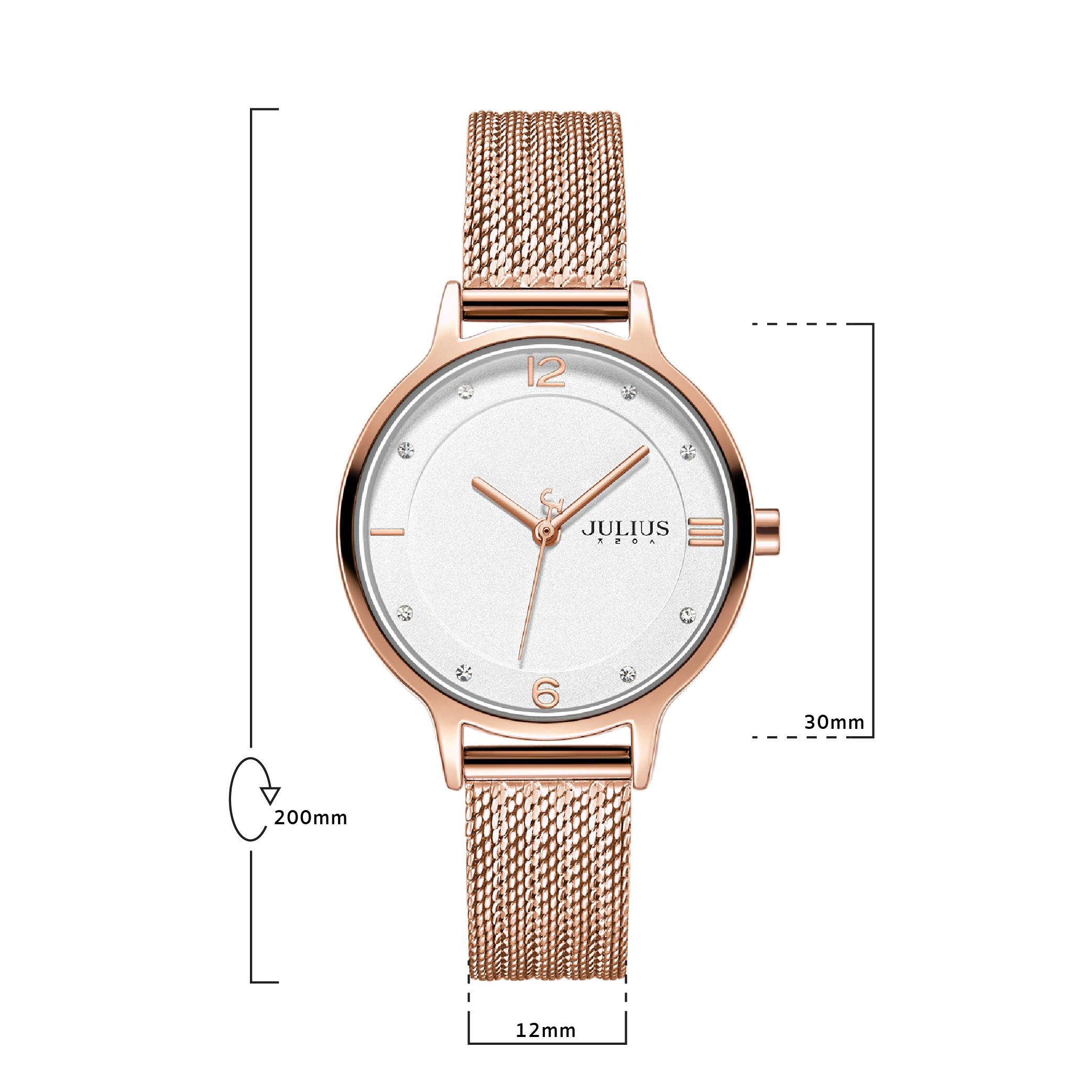 นาฬิกาข้อมือผู้หญิง JULIUS JA-1251 C