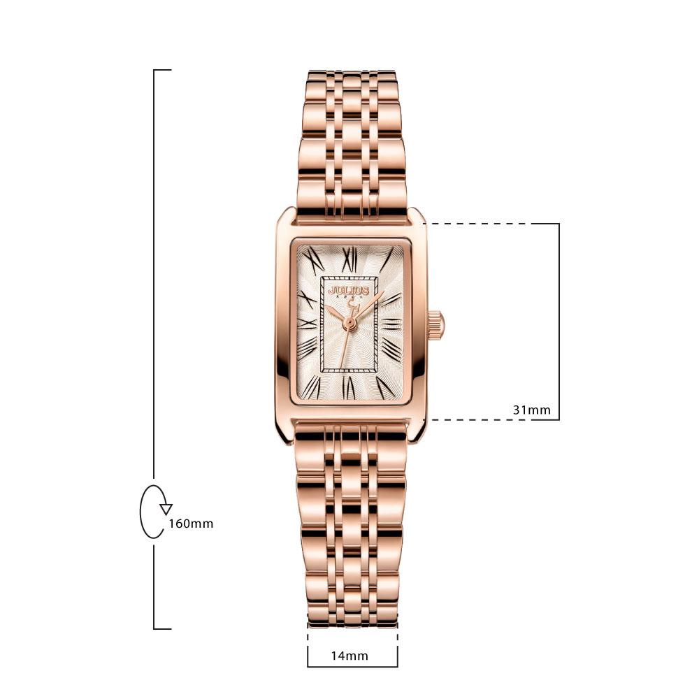 นาฬิกาข้อมือผู้หญิง JULIUS JA-1252 B