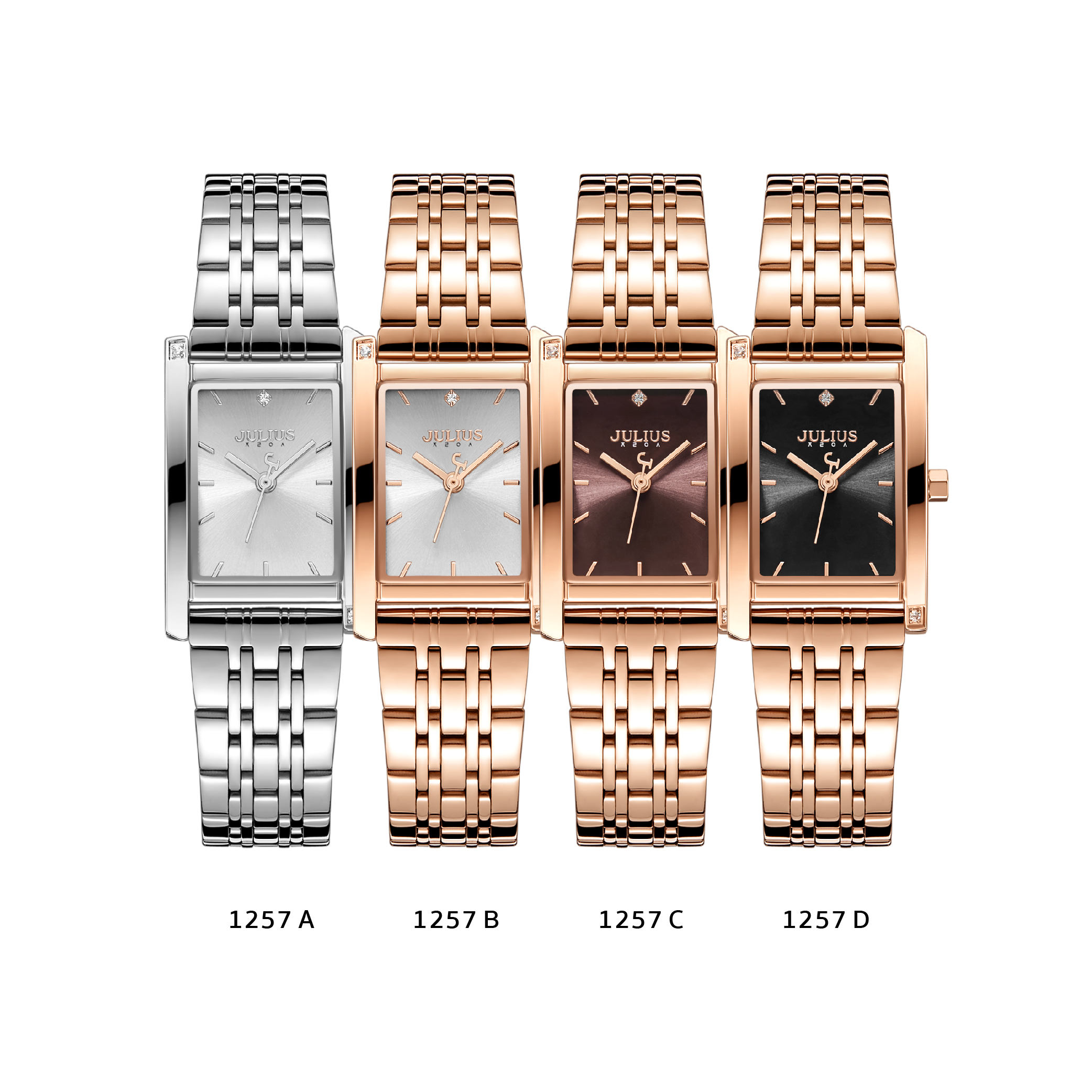 นาฬิกาข้อมือผู้หญิง JULIUS JA-1257 B