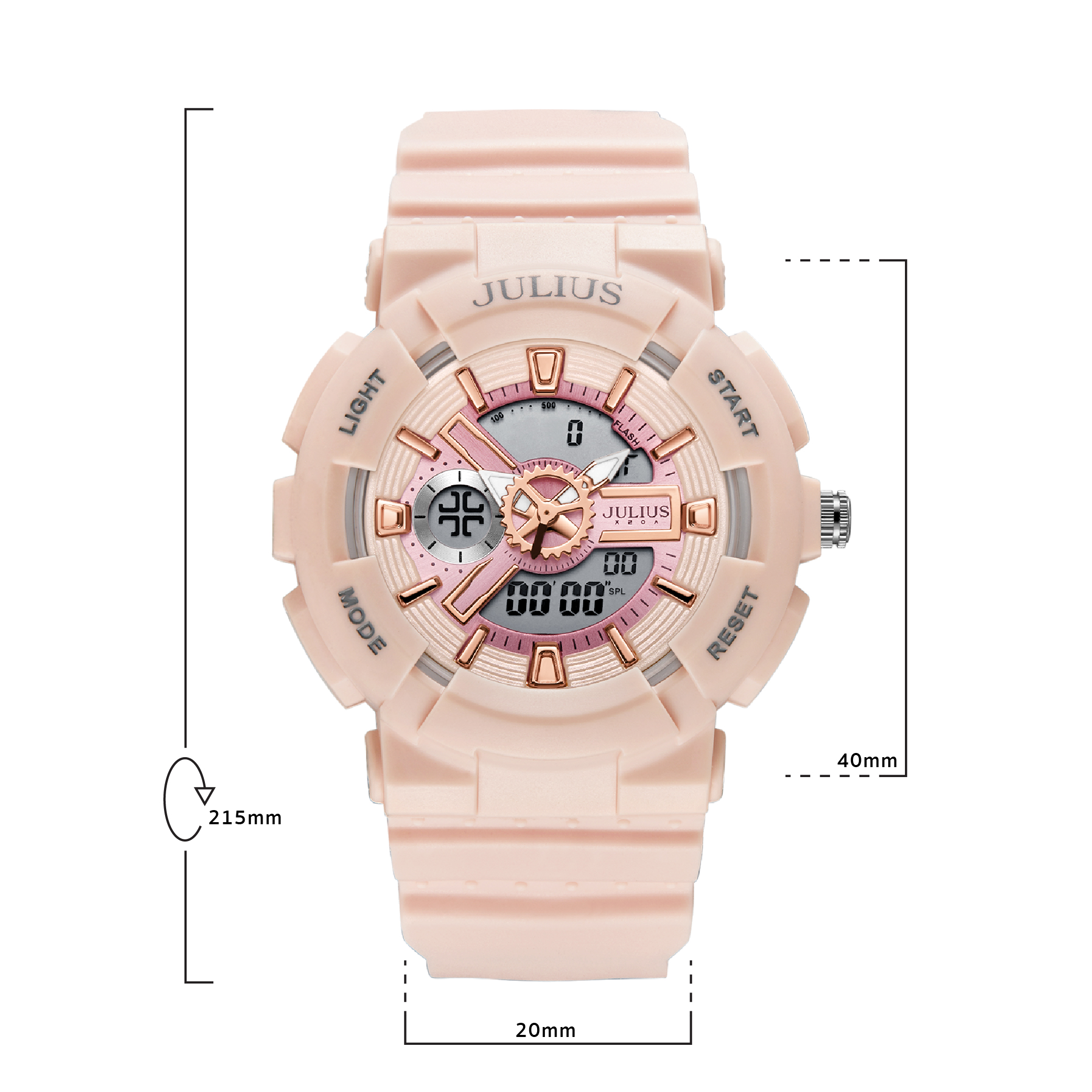 นาฬิกาข้อมือผู้หญิง JULIUS JA-1276 D