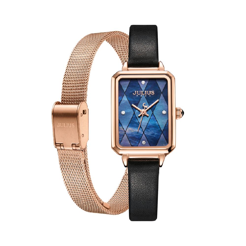 นาฬิกาข้อมือผู้หญิง JULIUS JA-1280 B