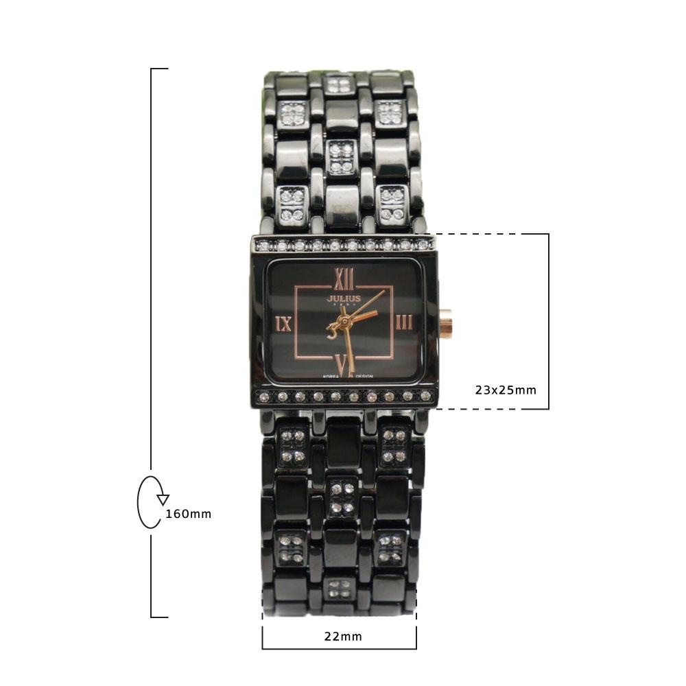 นาฬิกาข้อมือผู้หญิง JULIUS JA-648 H