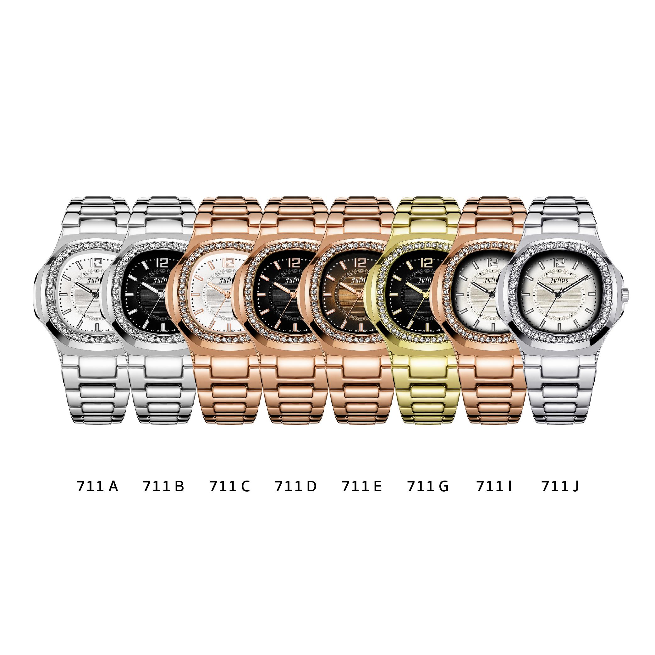 นาฬิกาข้อมือผู้หญิง JULIUS 711 I