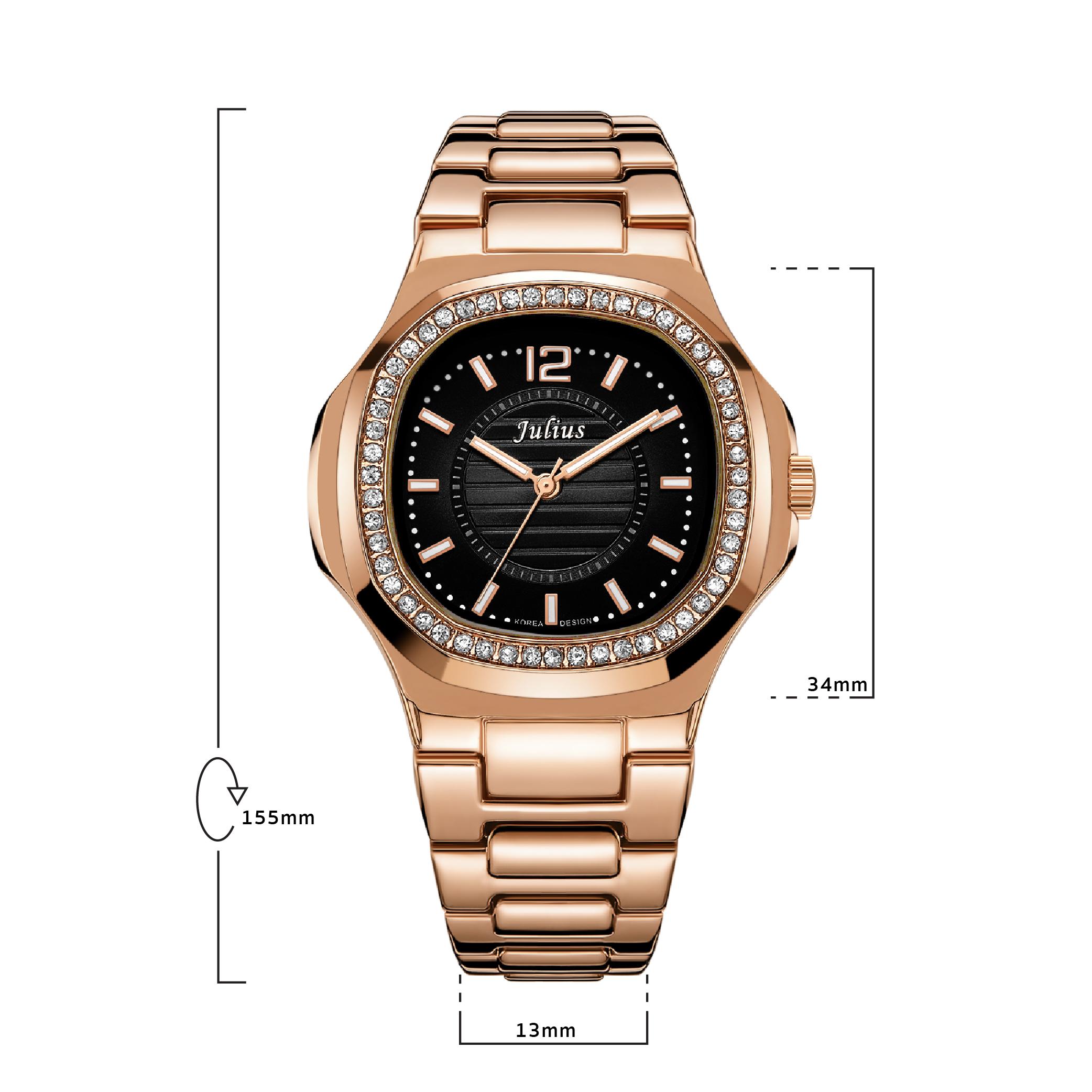 นาฬิกาข้อมือผู้หญิง JULIUS 711 D
