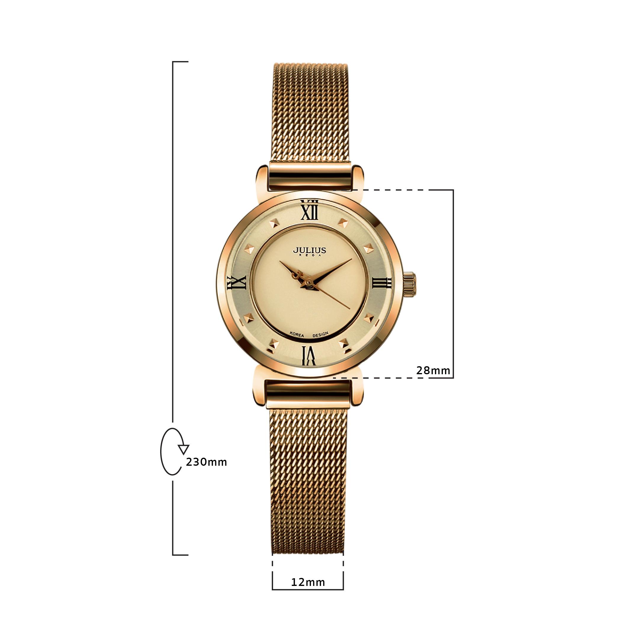 นาฬิกาข้อมือผู้หญิง JULIUS 728E