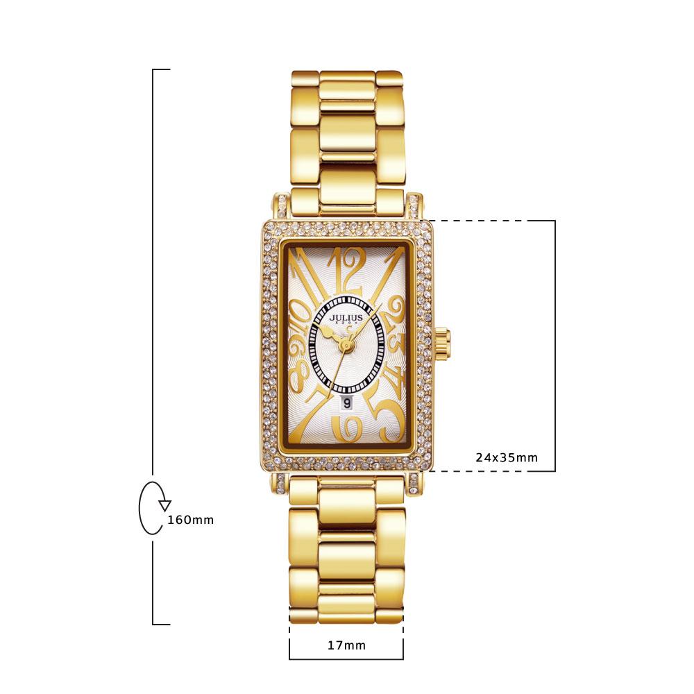 นาฬิกาข้อมือผู้หญิง JULIUS JA-838 B