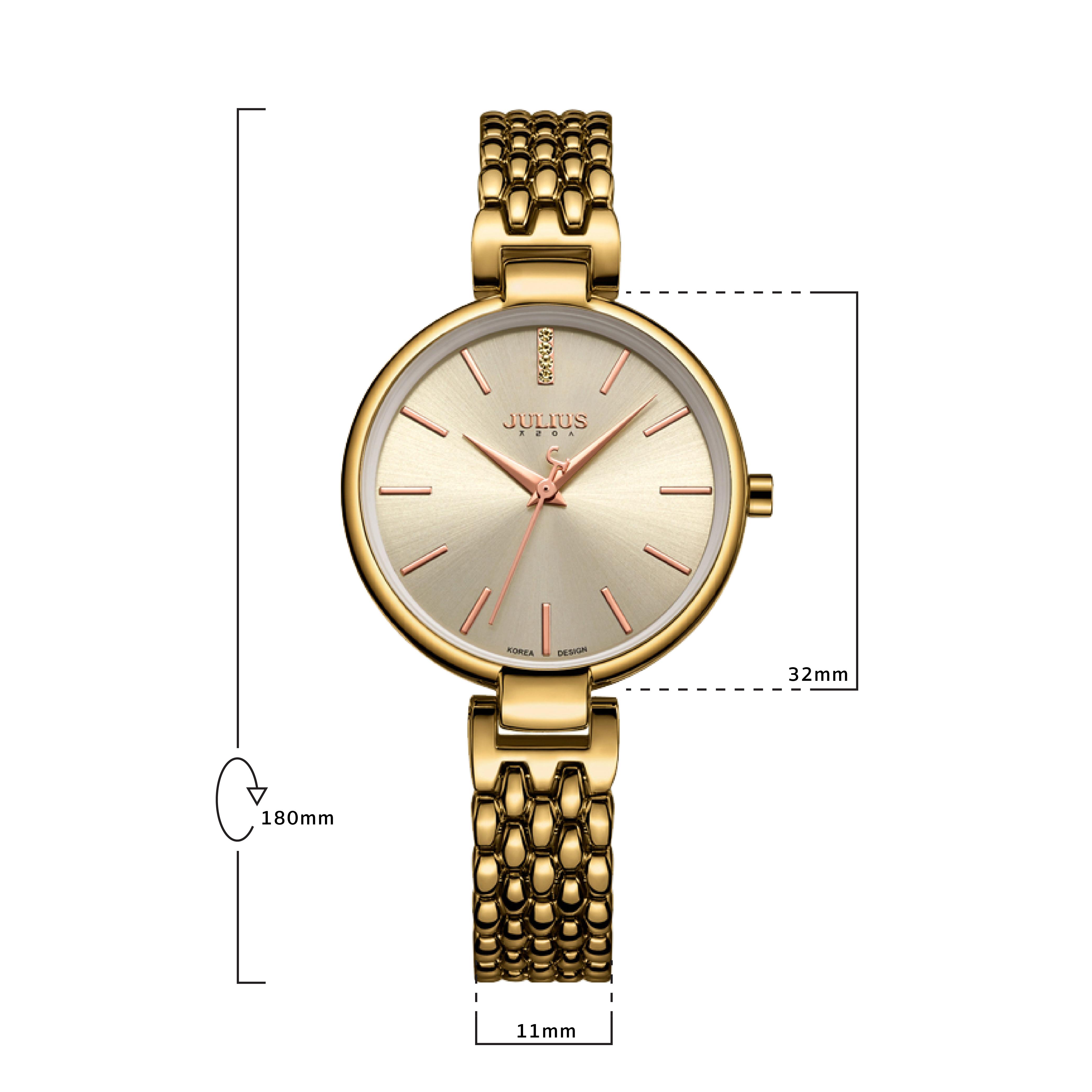นาฬิกาข้อมือผู้หญิง JULIUS JA-960 E