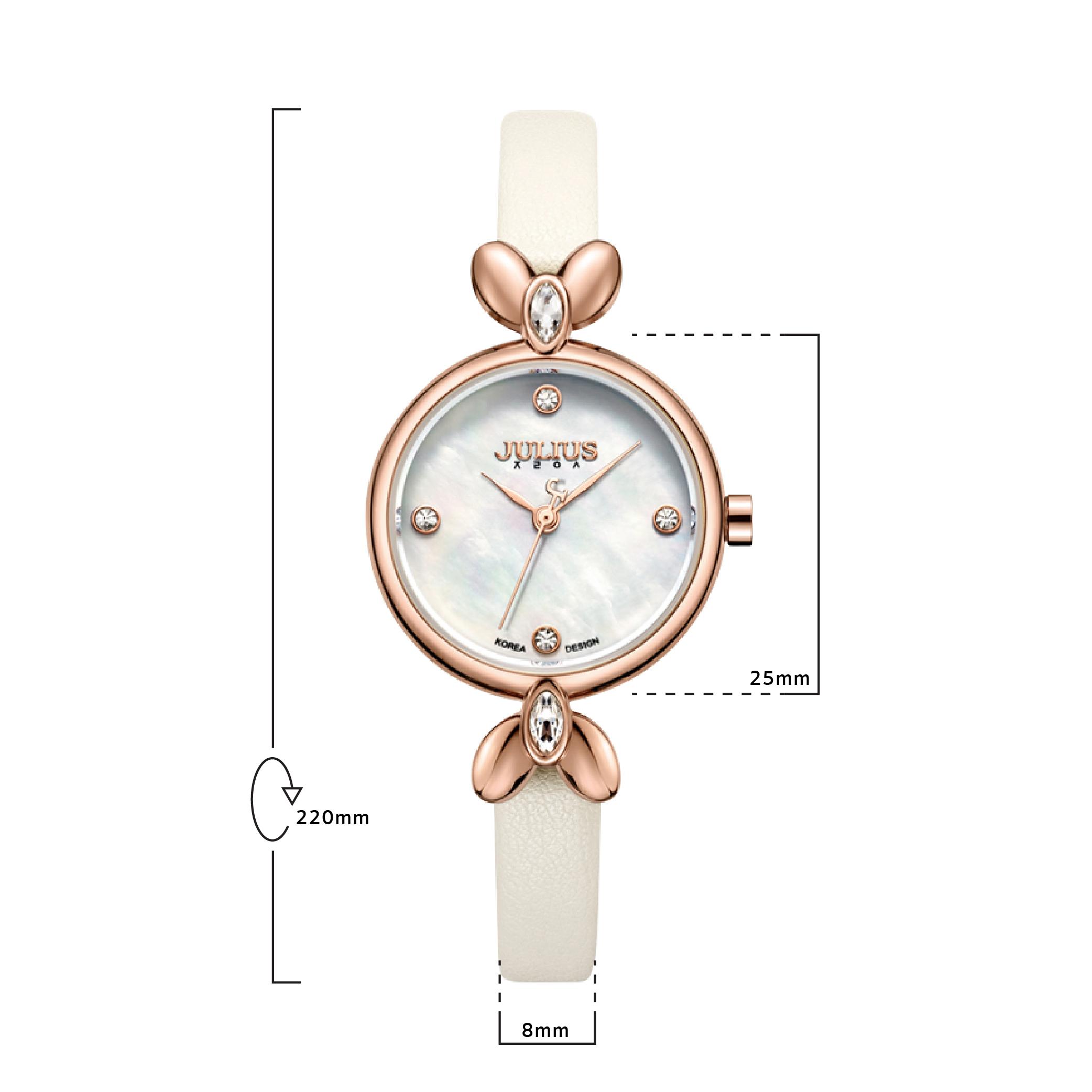 นาฬิกาข้อมือผู้หญิง JULIUS JA-975 B