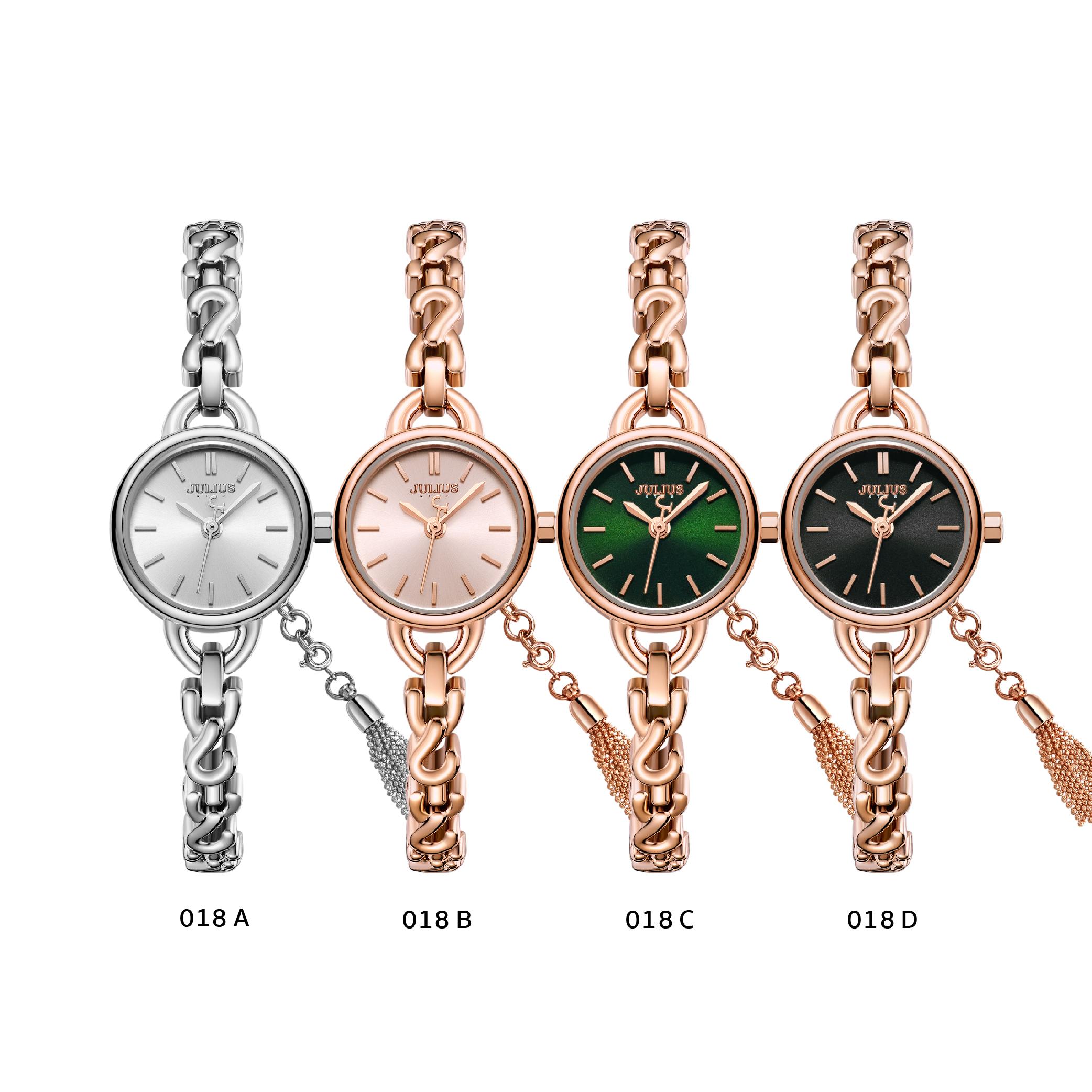 นาฬิกาข้อมือผู้หญิง JULIUS STAR 018D